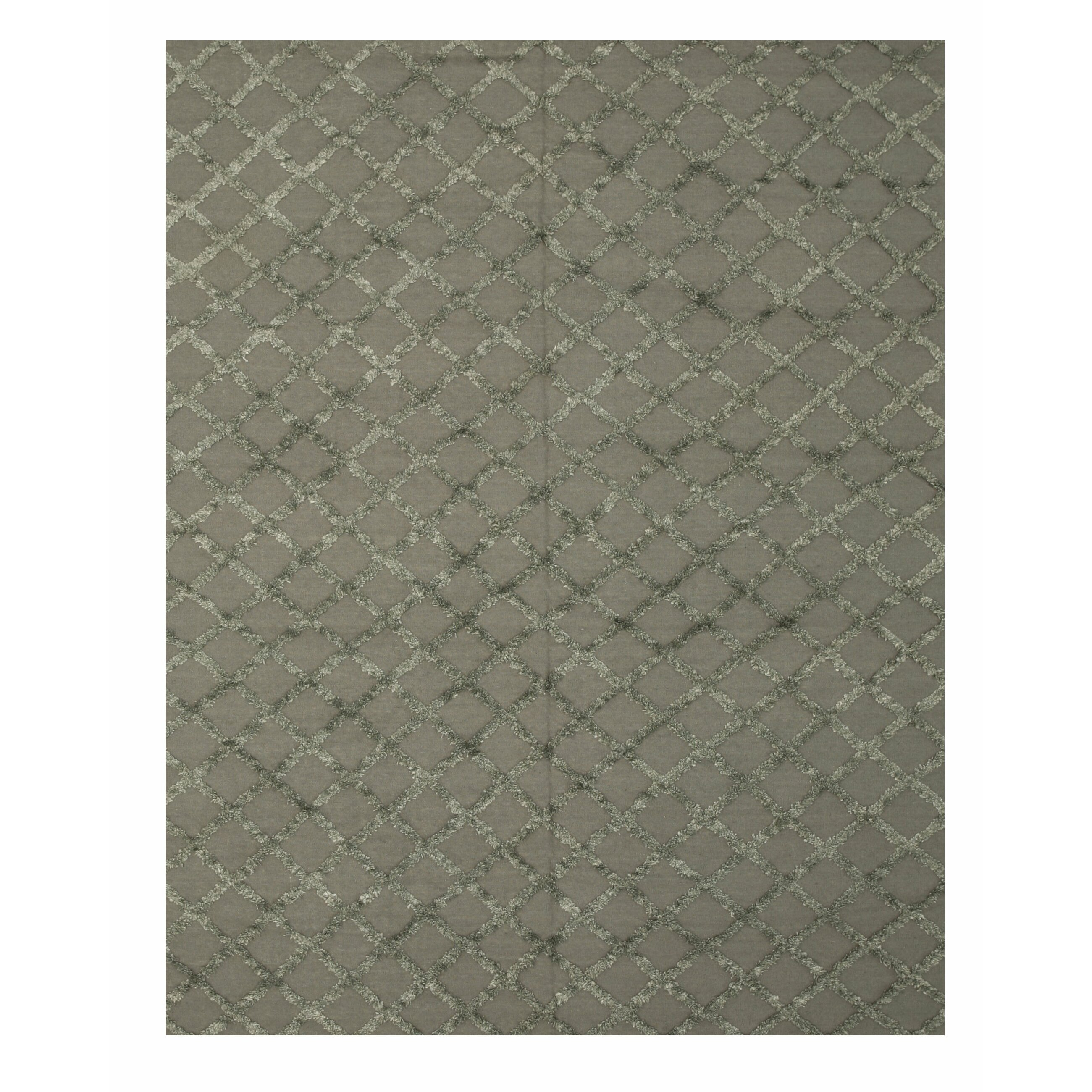 Orian Rugs Patterson Charcoal: Eastern Rugs Marakesh Hand-Woven Charcoal Area Rug