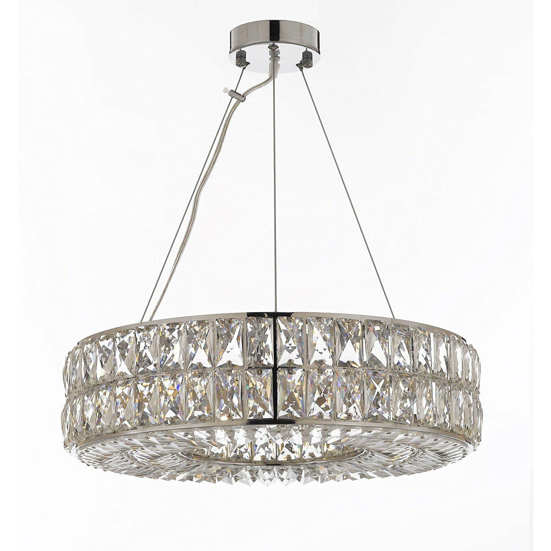 Harrison Lane Spiridon Ring 8 Light Crystal Chandelier