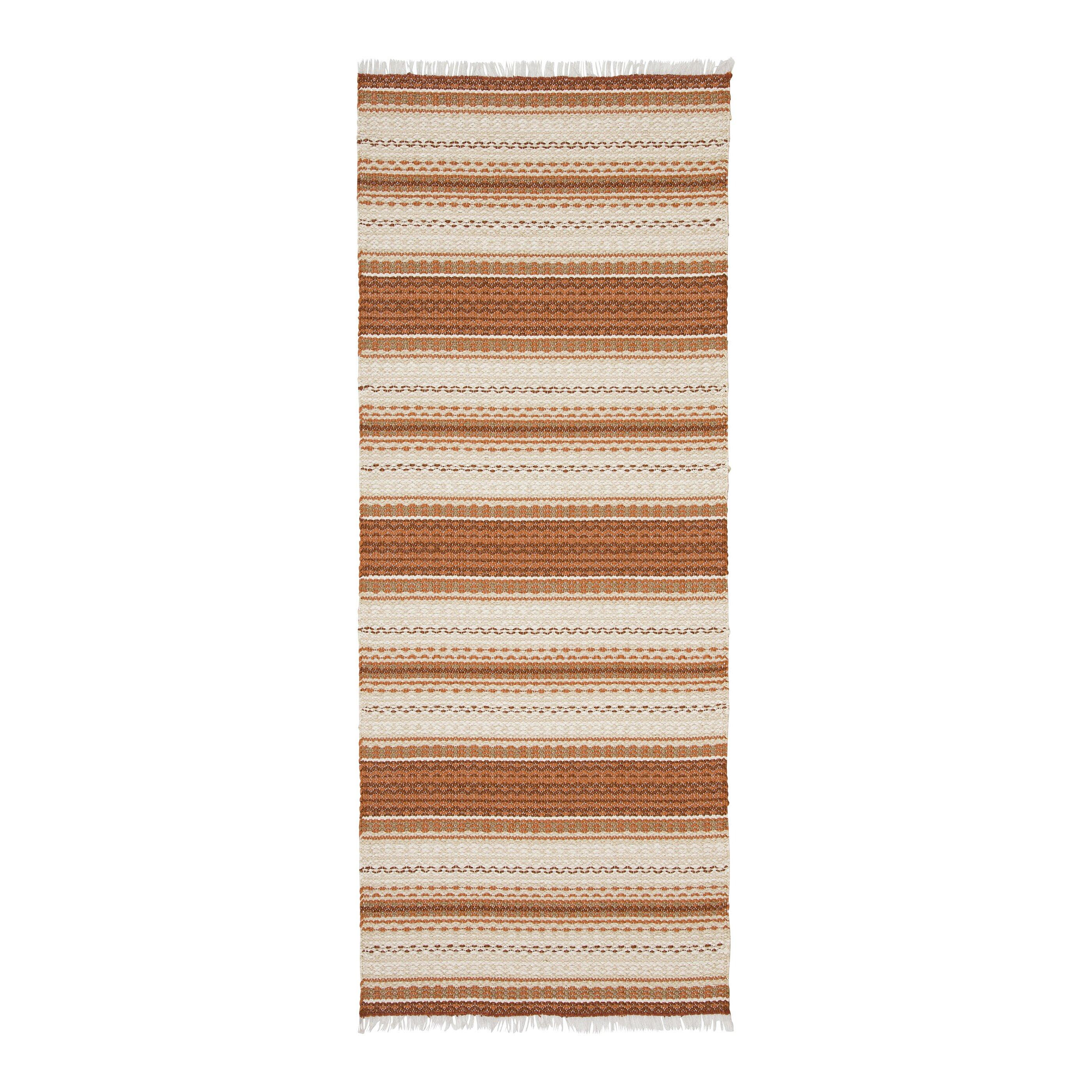 Swedy malva orange indoor outdoor area rug wayfair uk for Indoor outdoor rugs uk