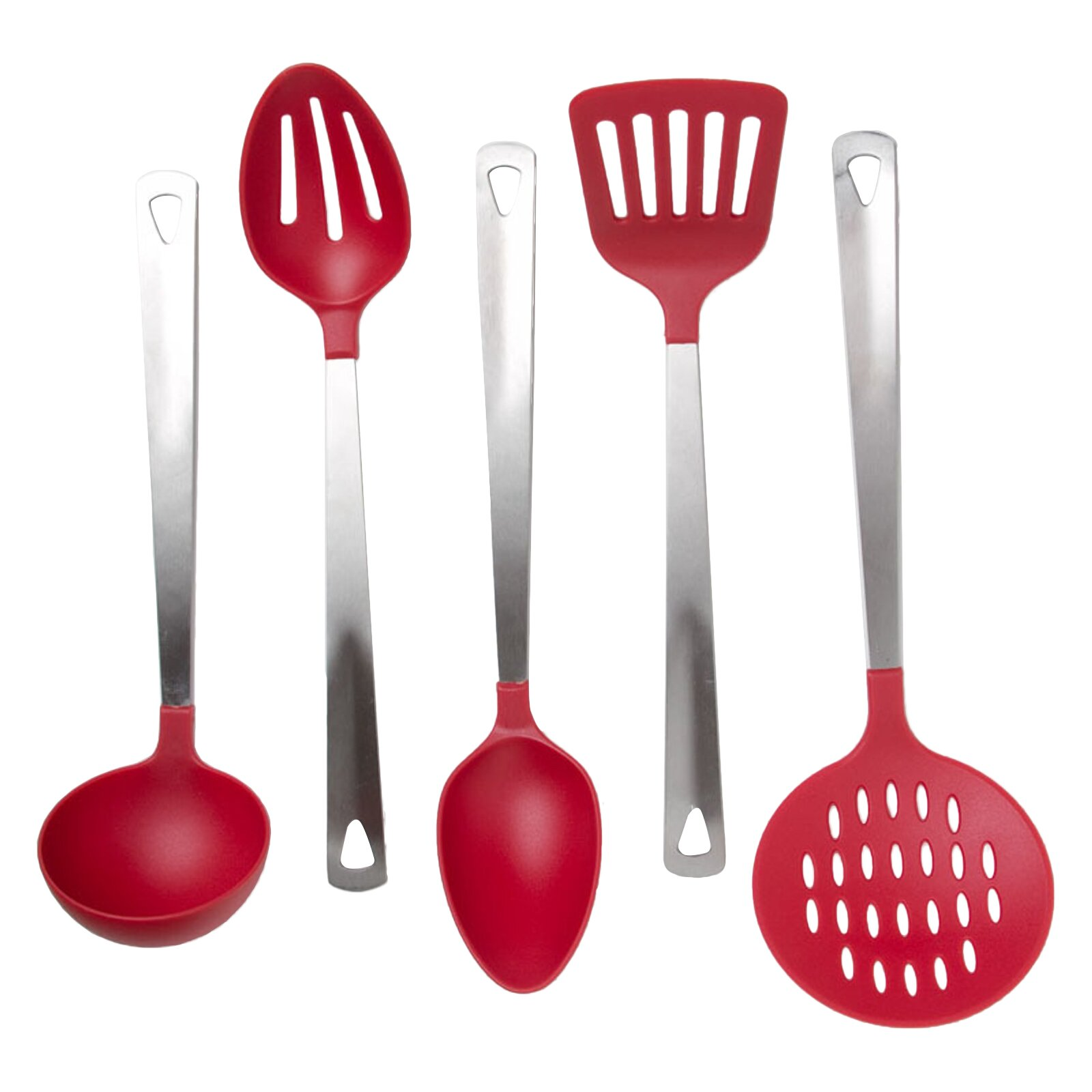 Prime pacific cook 39 s corner 5 piece kitchen utensil set for Kitchen set utensils