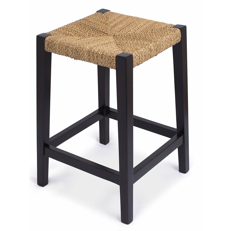 Birdrock Home Rush Weave 24 Quot Counter Height Bar Stool