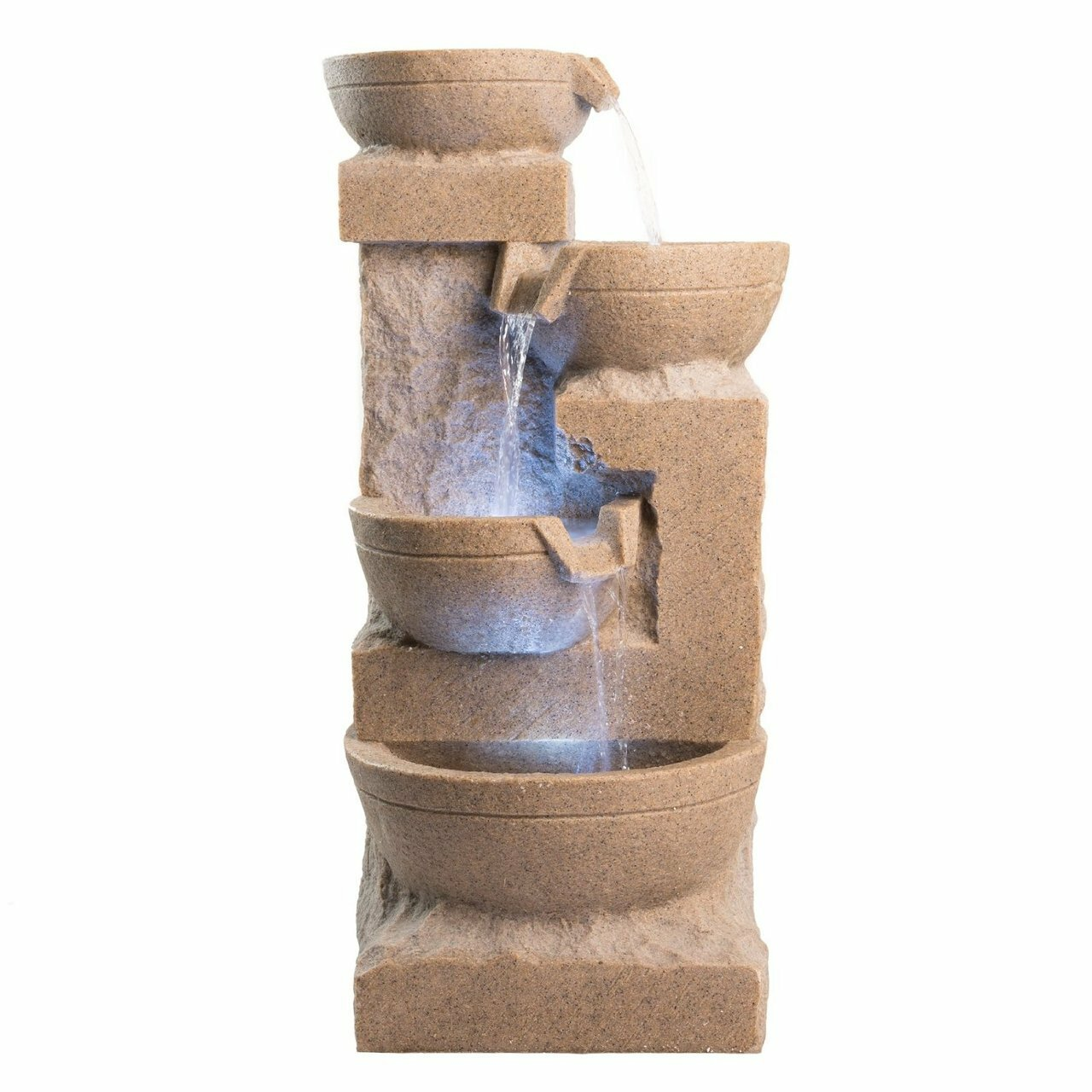 Harmony Fountains Bowl Resin And Fiberglass Fountain Wayfair