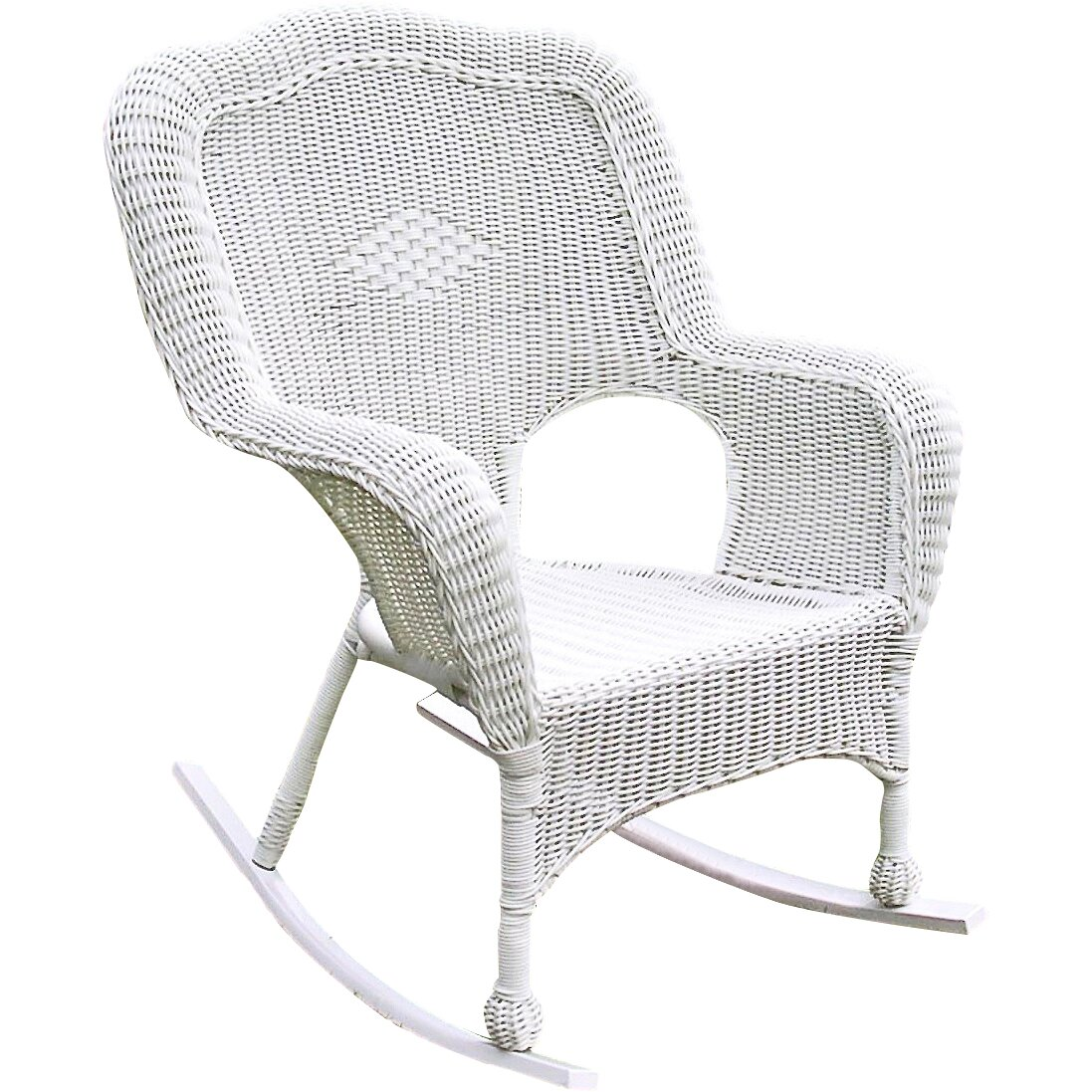 Outdoor Patio Furniture ... Wicker/Rattan Patio Rocking Chairs ...