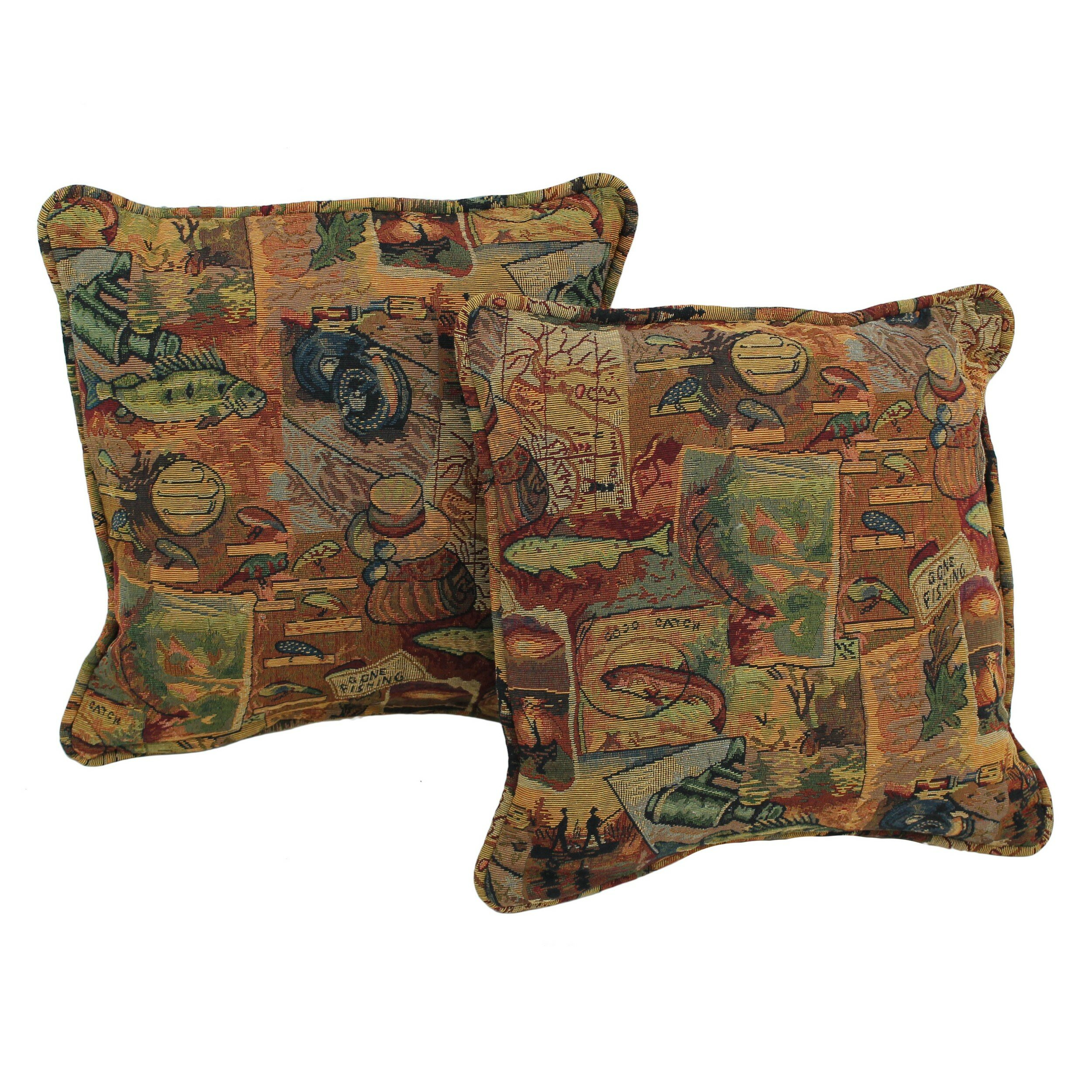 Decorative Western Throw Pillows : Blazing Needles Western Tapestry Throw Pillow & Reviews Wayfair