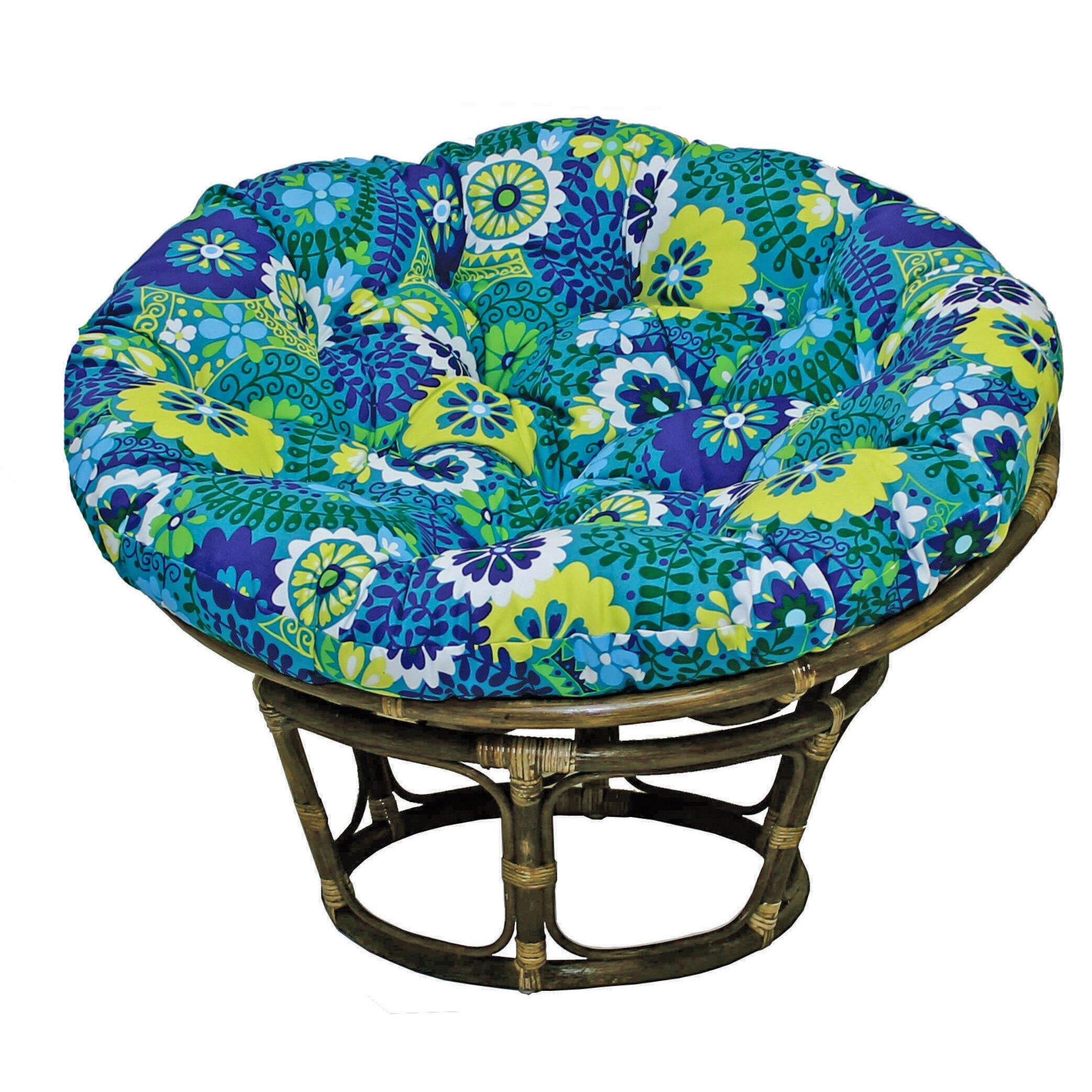 blazing needles outdoor papasan cushion reviews wayfair. Black Bedroom Furniture Sets. Home Design Ideas