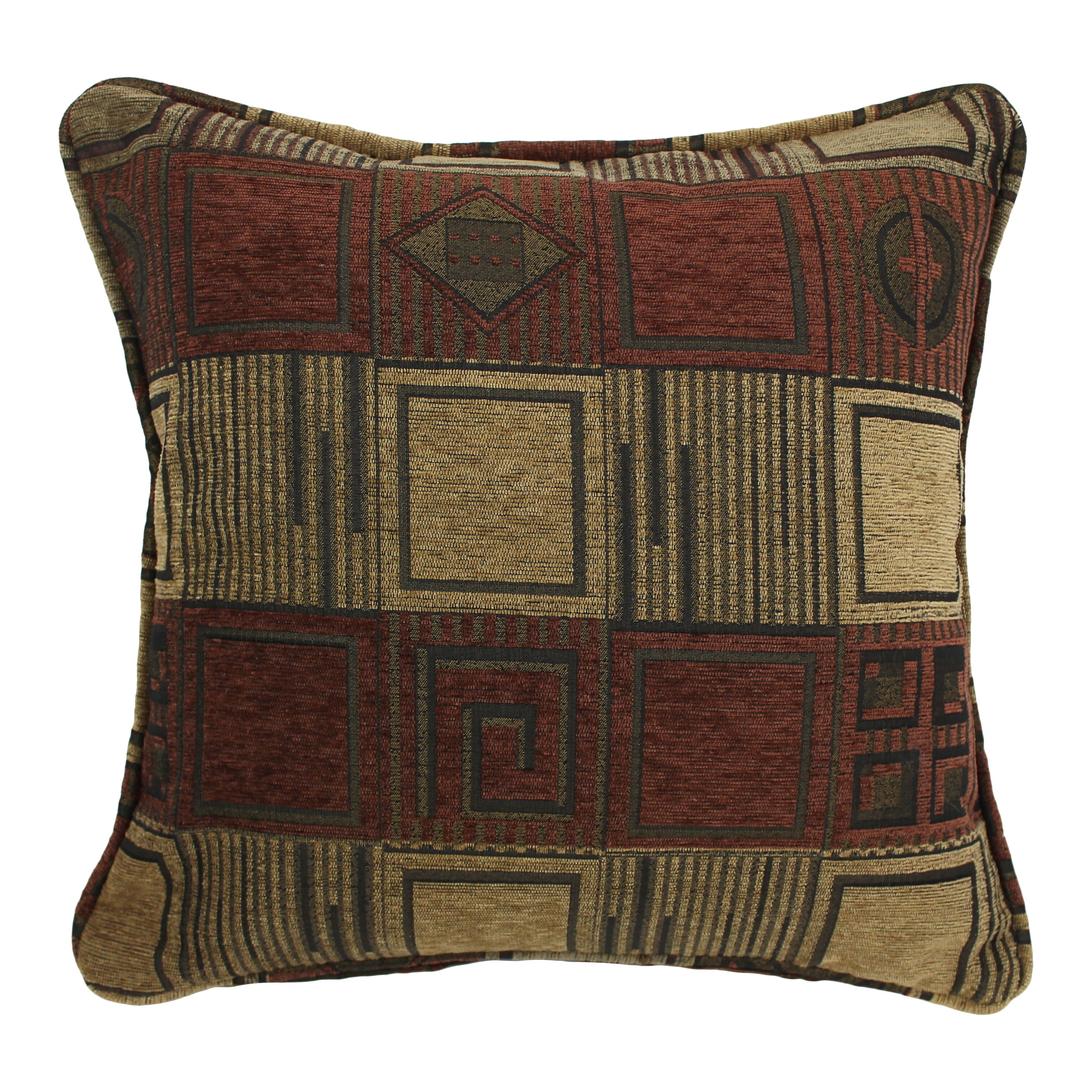 Chenille Throw Pillows Set Of 2 : Blazing Needles Jaquard Chenille Throw Pillow Wayfair