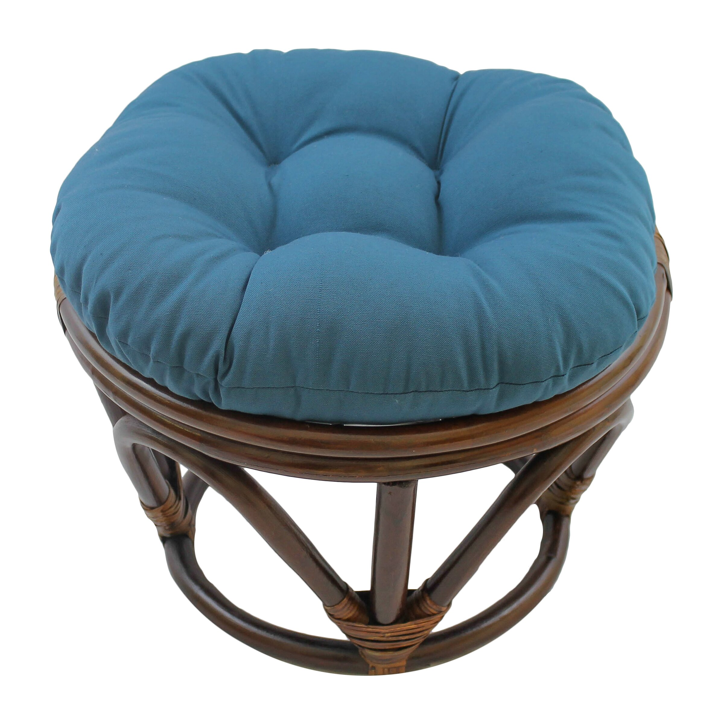 blazing needles papasan ottoman cushion reviews. Black Bedroom Furniture Sets. Home Design Ideas