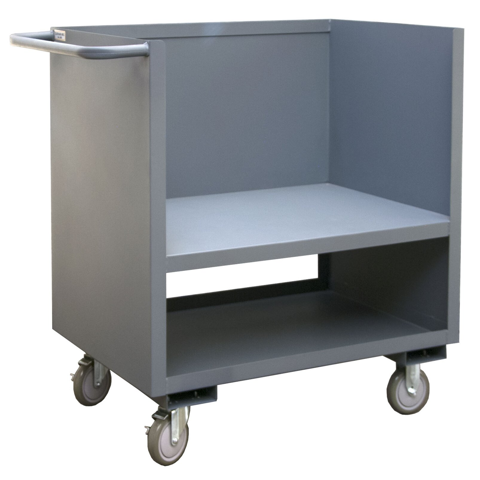 Factory Utility Cart: Durham Manufacturing Raised Deck Utility Cart