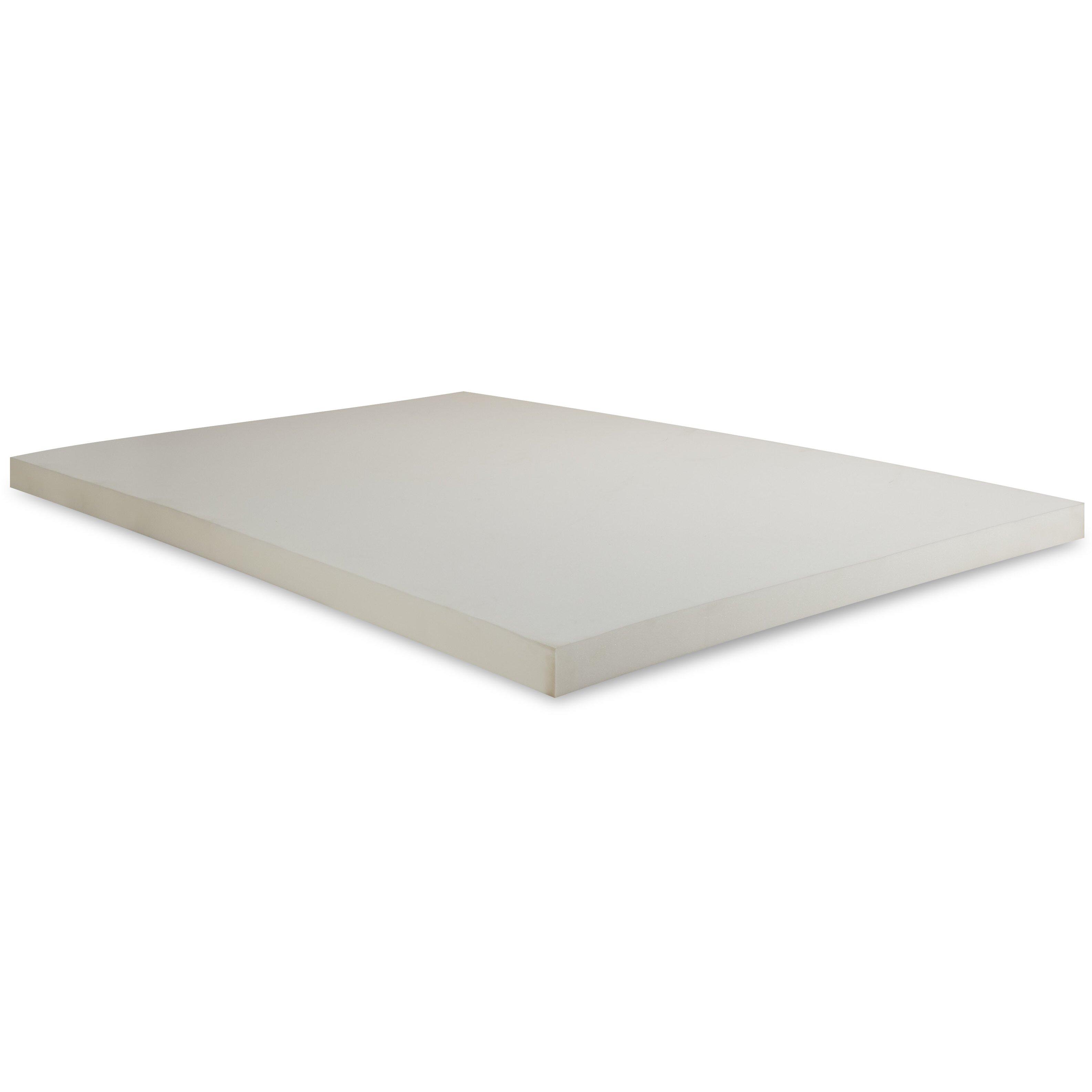Independent Sleep Twin XL Slab Memory Foam Topper