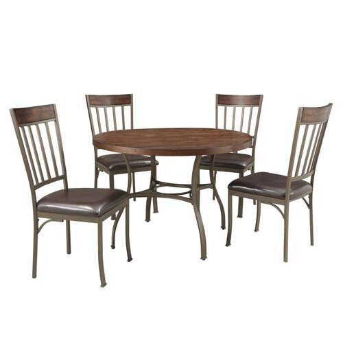 Kingstown home shayne 5 piece dining set reviews wayfair - Where can i buy dining room chairs ...