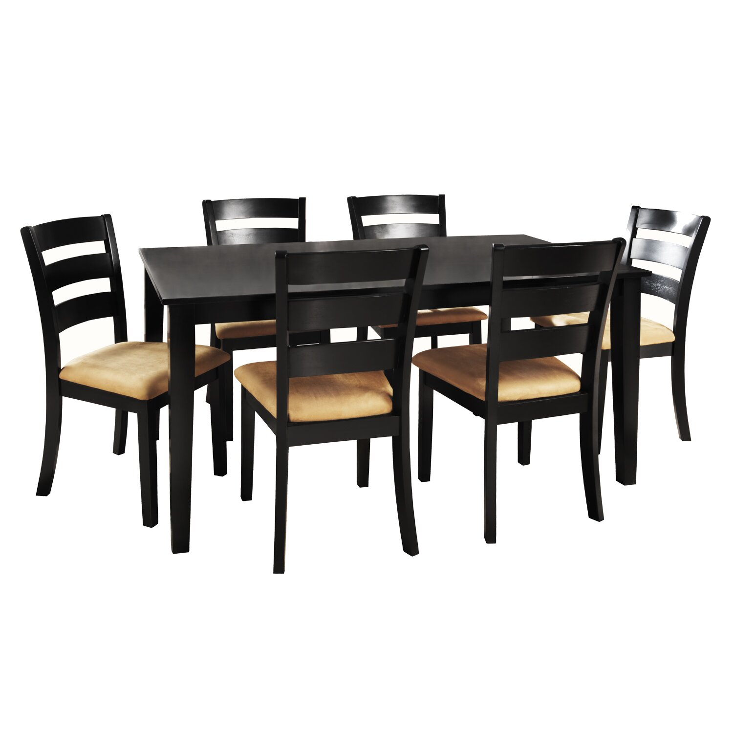 Kingstown home jeannette 7 piece dining set wayfair for 7 piece dining set