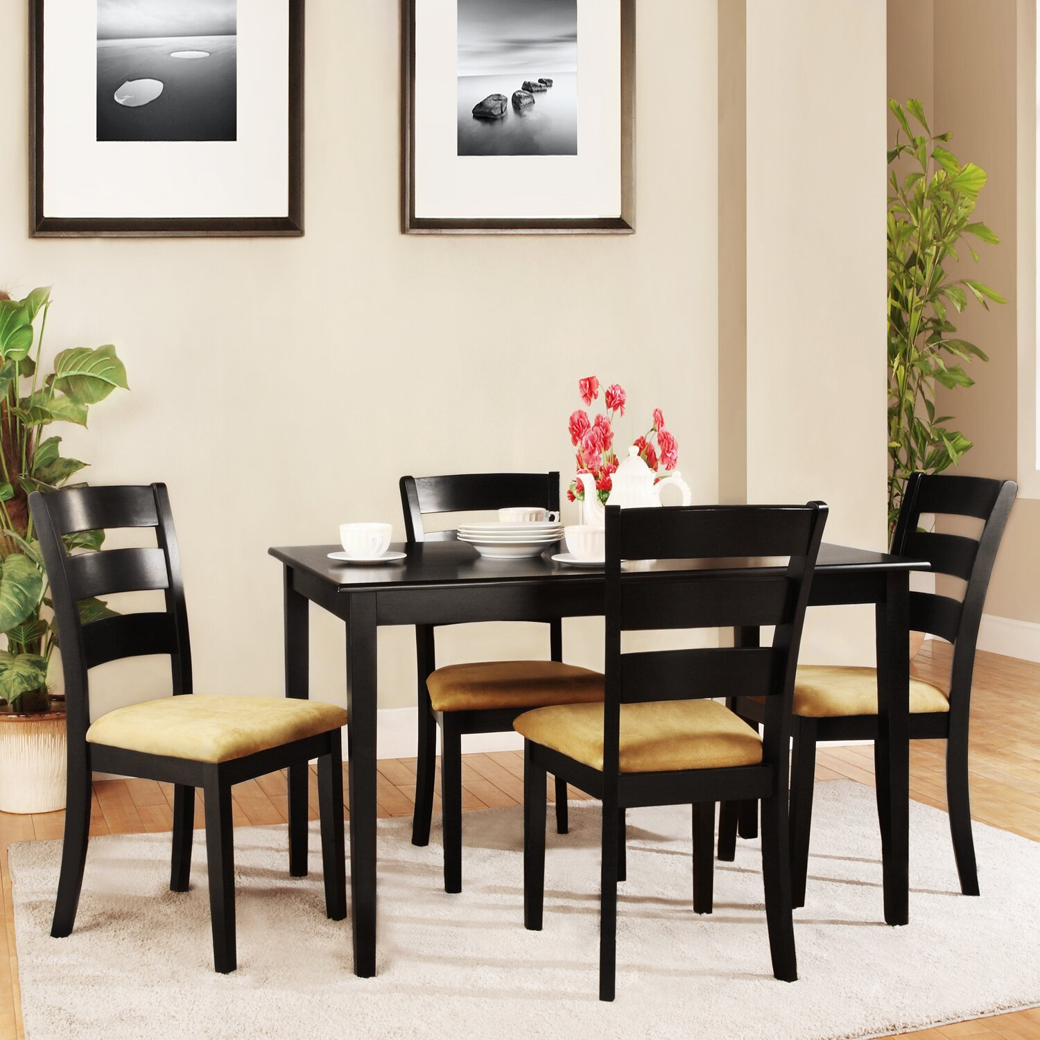 Kingstown home jeannette 5 piece dining set reviews for 5 piece dining room sets
