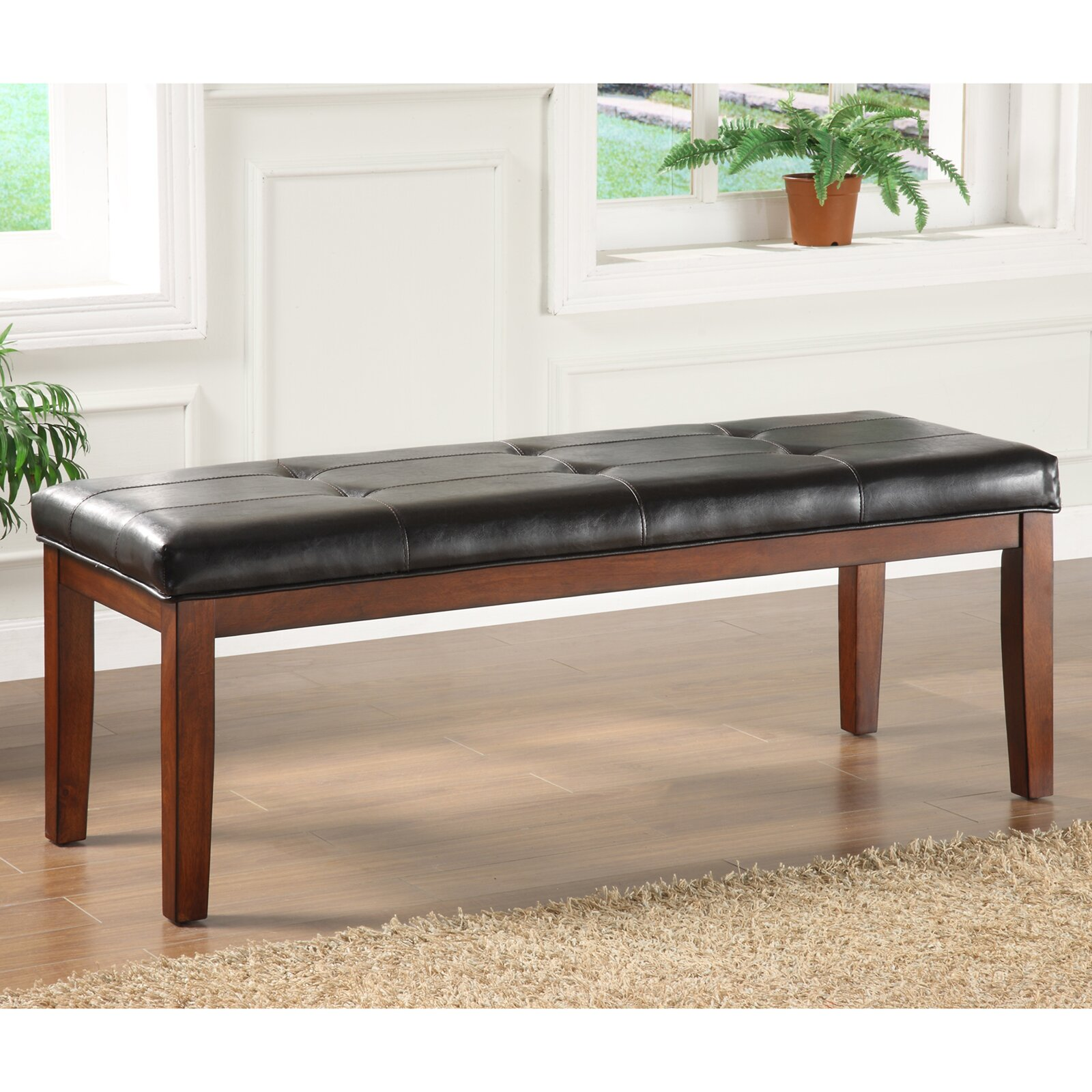 Three Posts Oliver Faux Leather Bedroom Bench Reviews Wayfair