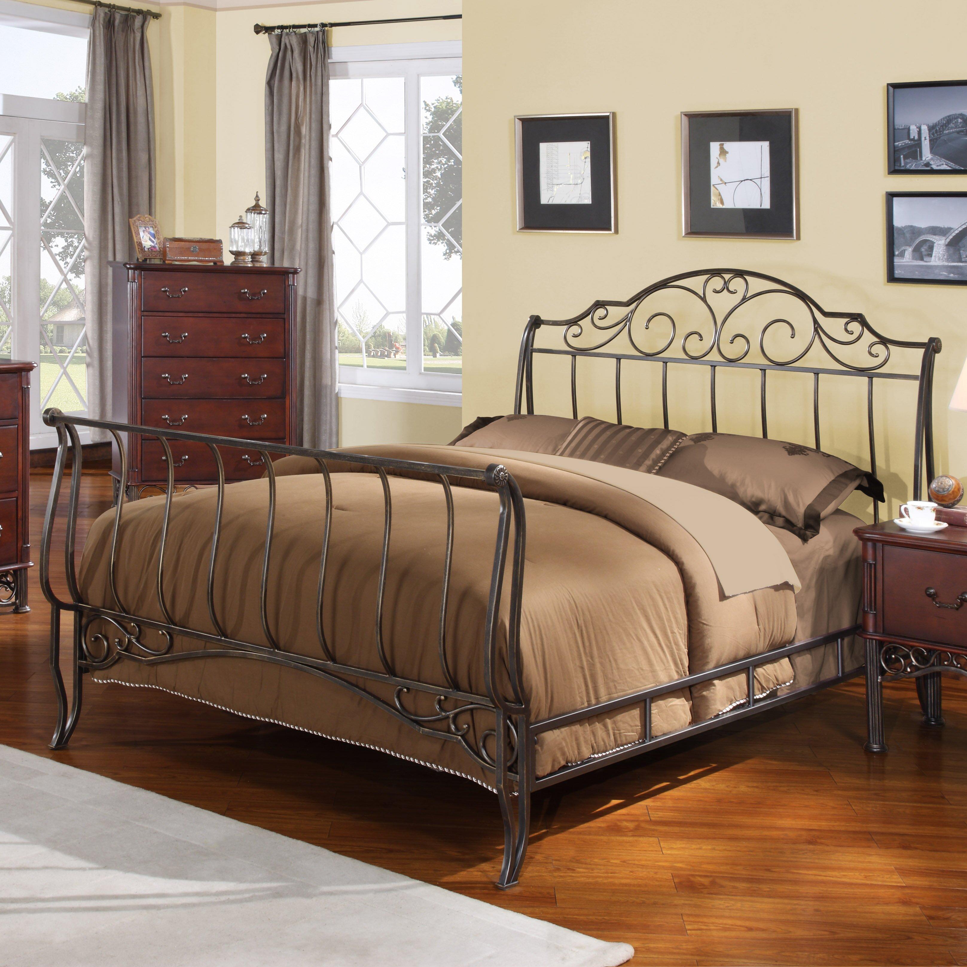 Kingstown Home Tristin Sleigh Bed Reviews Wayfair