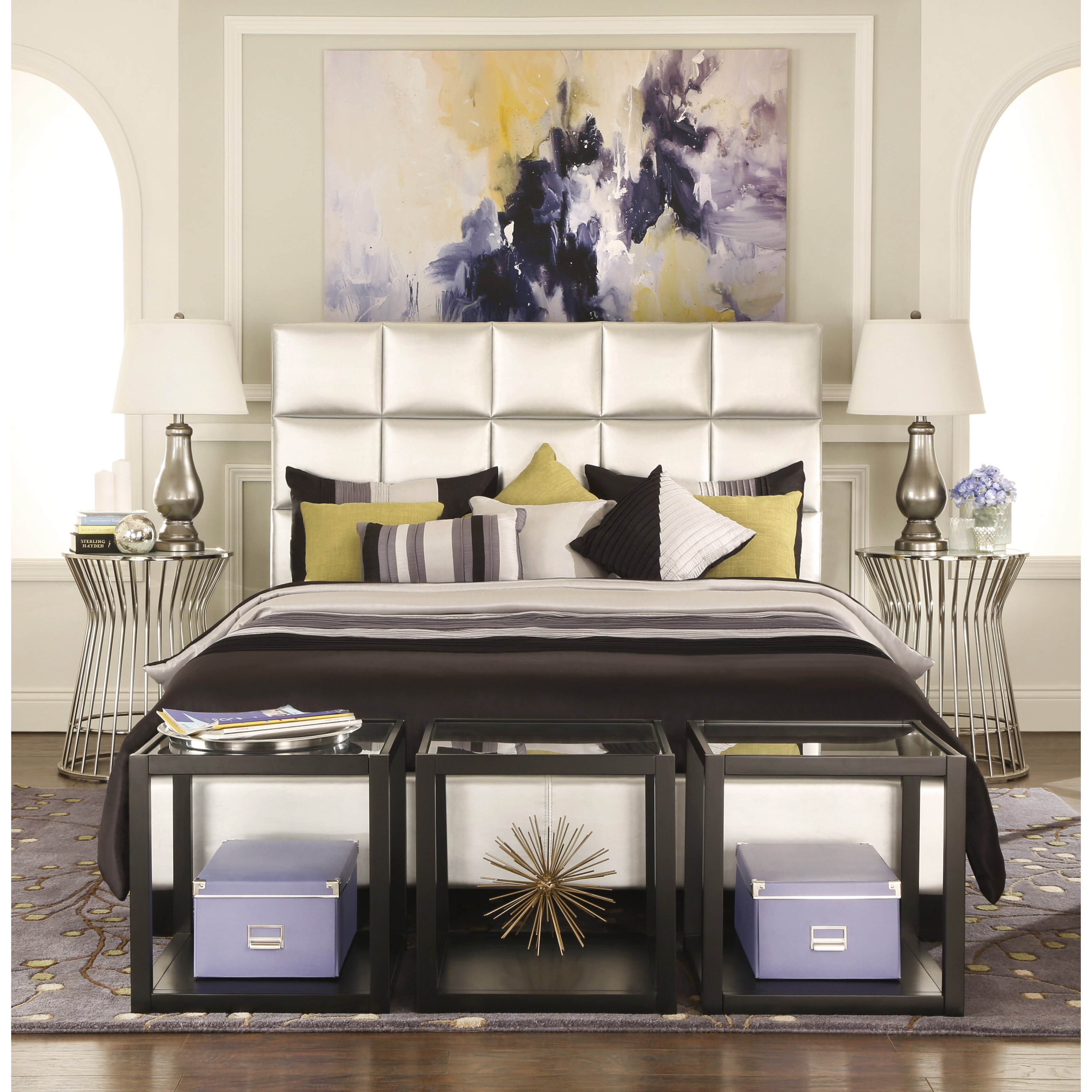Kingstown Home Kingstown Upholstered Platform Bed Reviews Wayfair