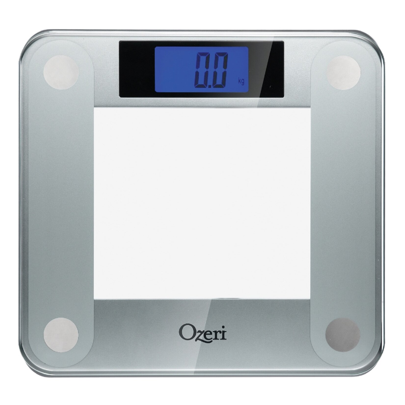 Bathroom Scale Ratings: Ozeri Precision II 440 Lbs Digital Bath And Weight Scale