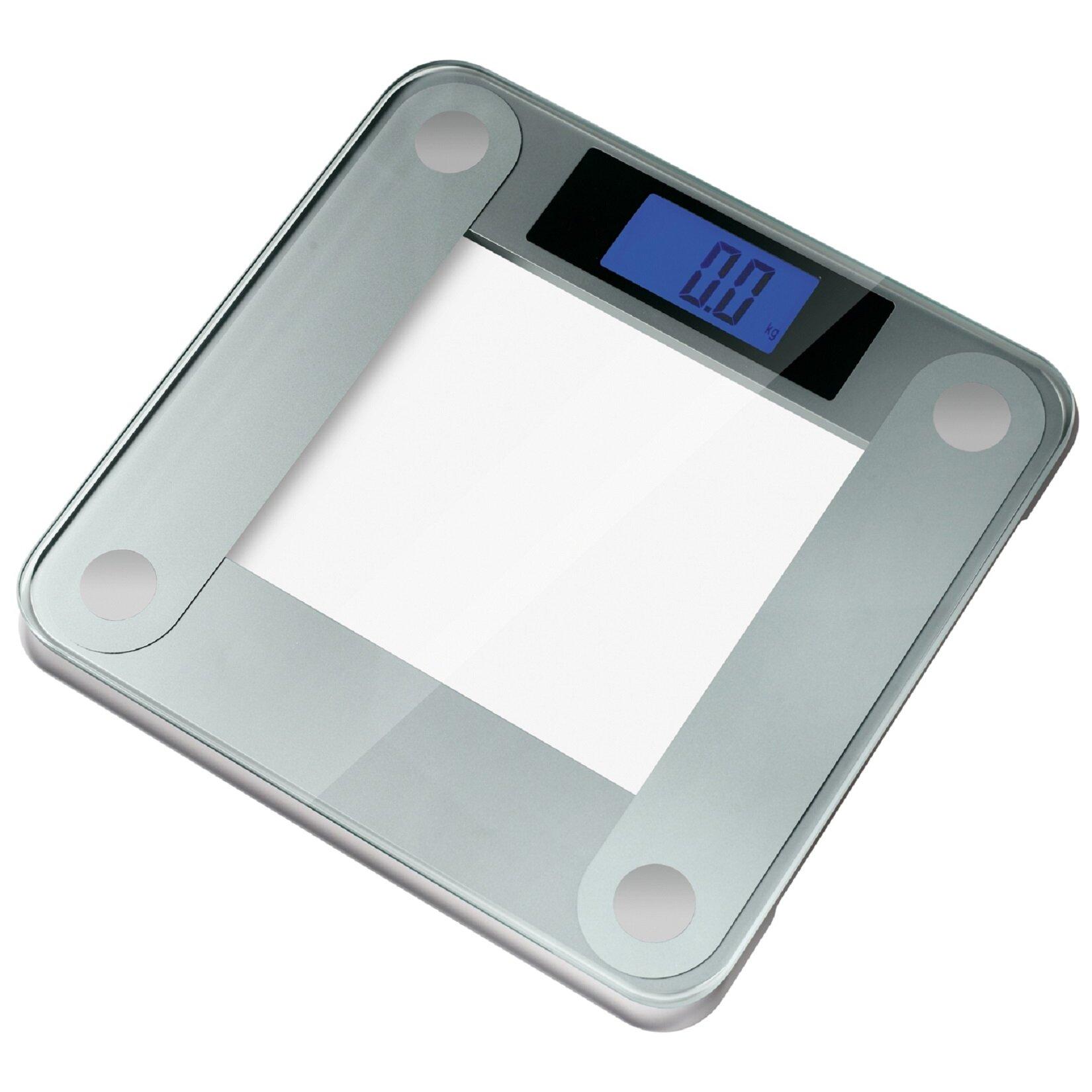 Ozeri Precision II Digital Bathroom Scale 440 lbs Capacity with. Eatsmart Precision Digital Bathroom Scale Silver