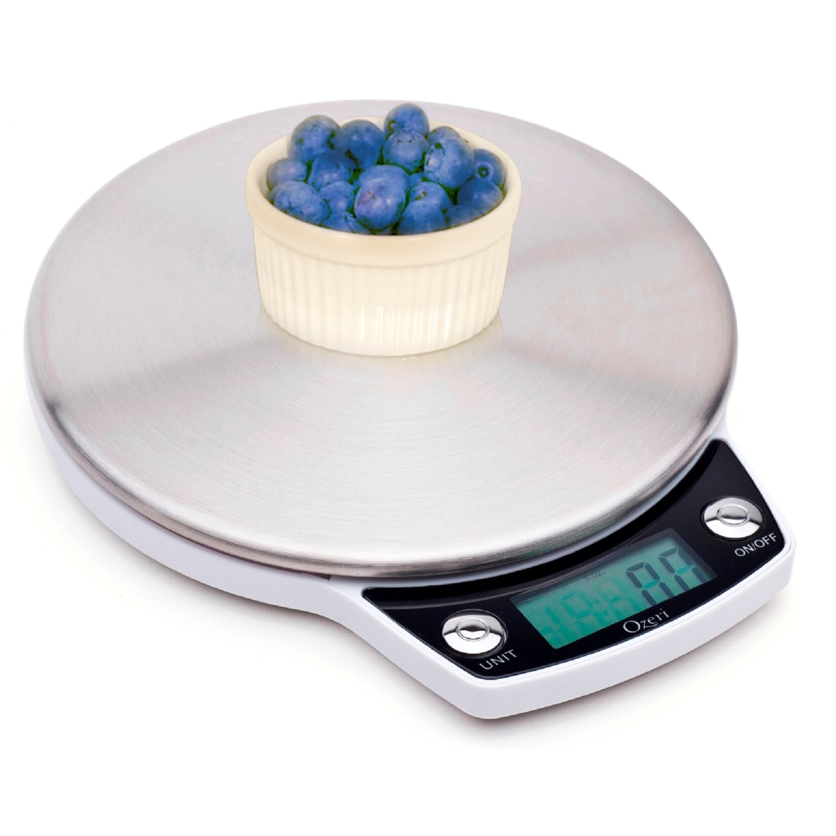 Ozeri precision pro stainless steel digital kitchen scale for How much is a kitchen scale