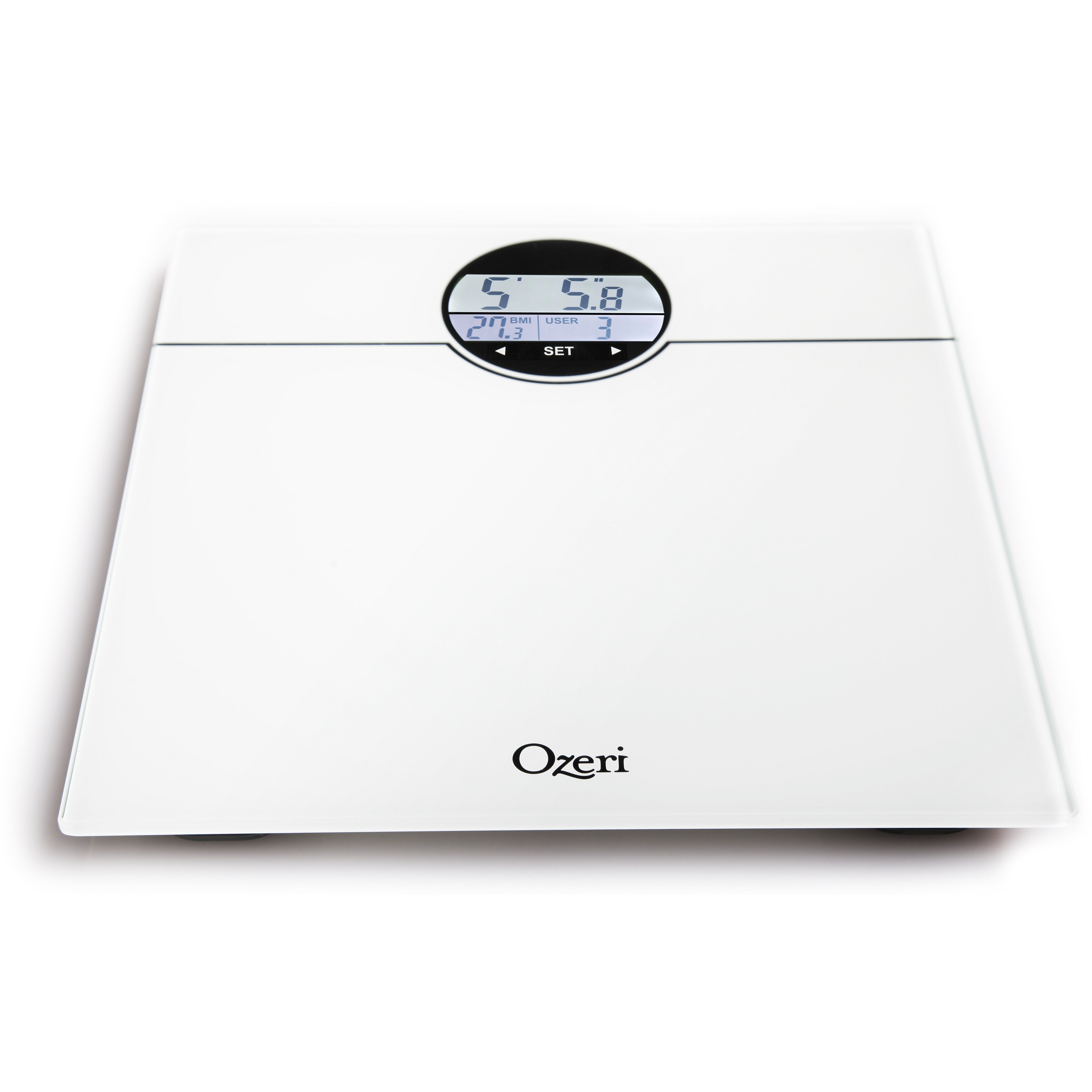Ozeri Bathroom Scale Ozeri Weightmaster 400 Lbs Digital