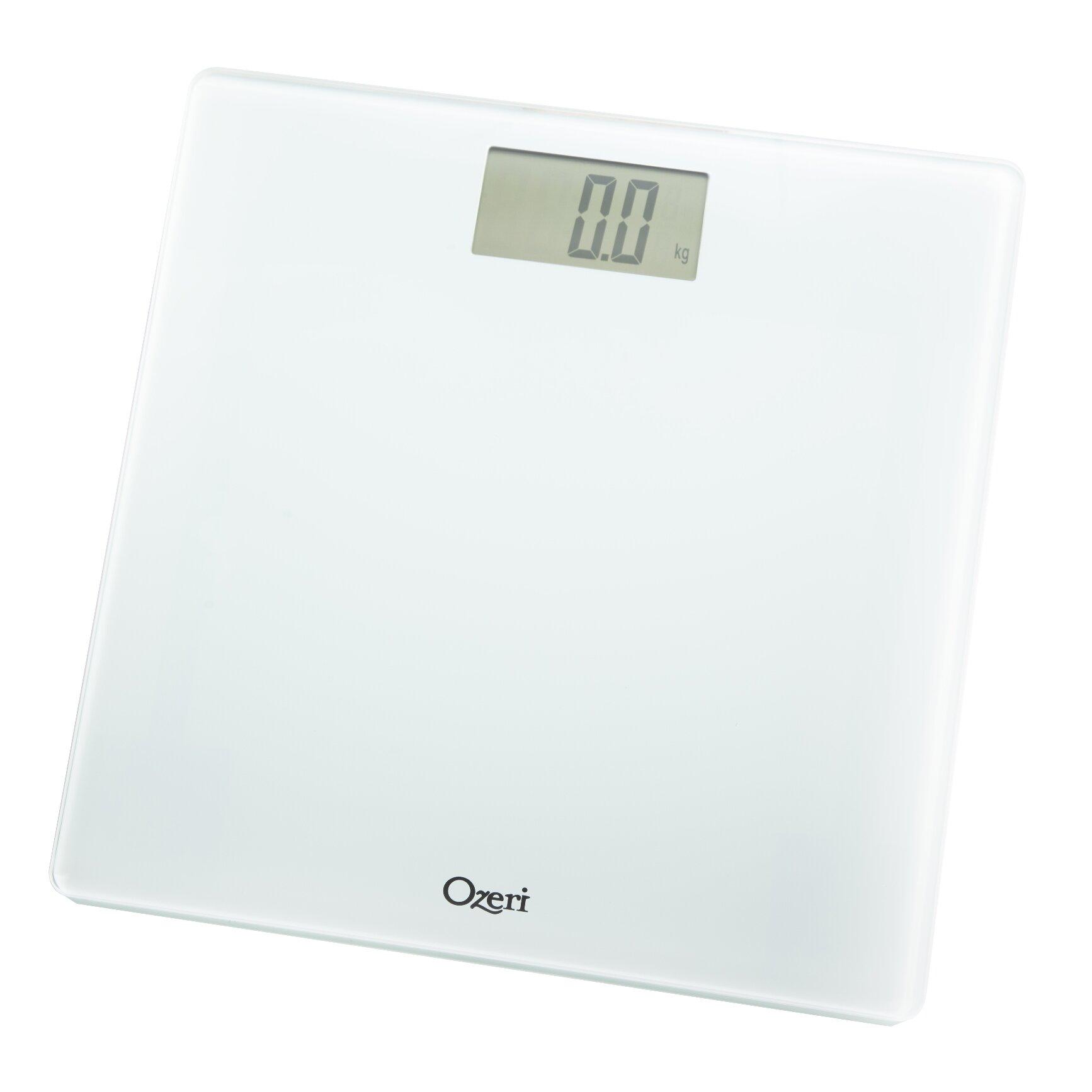 Digital Bathroom Scales For Sale: Ozeri Precision Digital Bath Scale