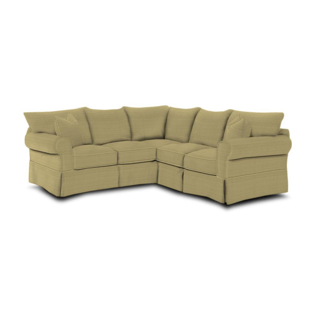 Wayfair custom upholstery felicity sectional reviews for Wayfair sectionals