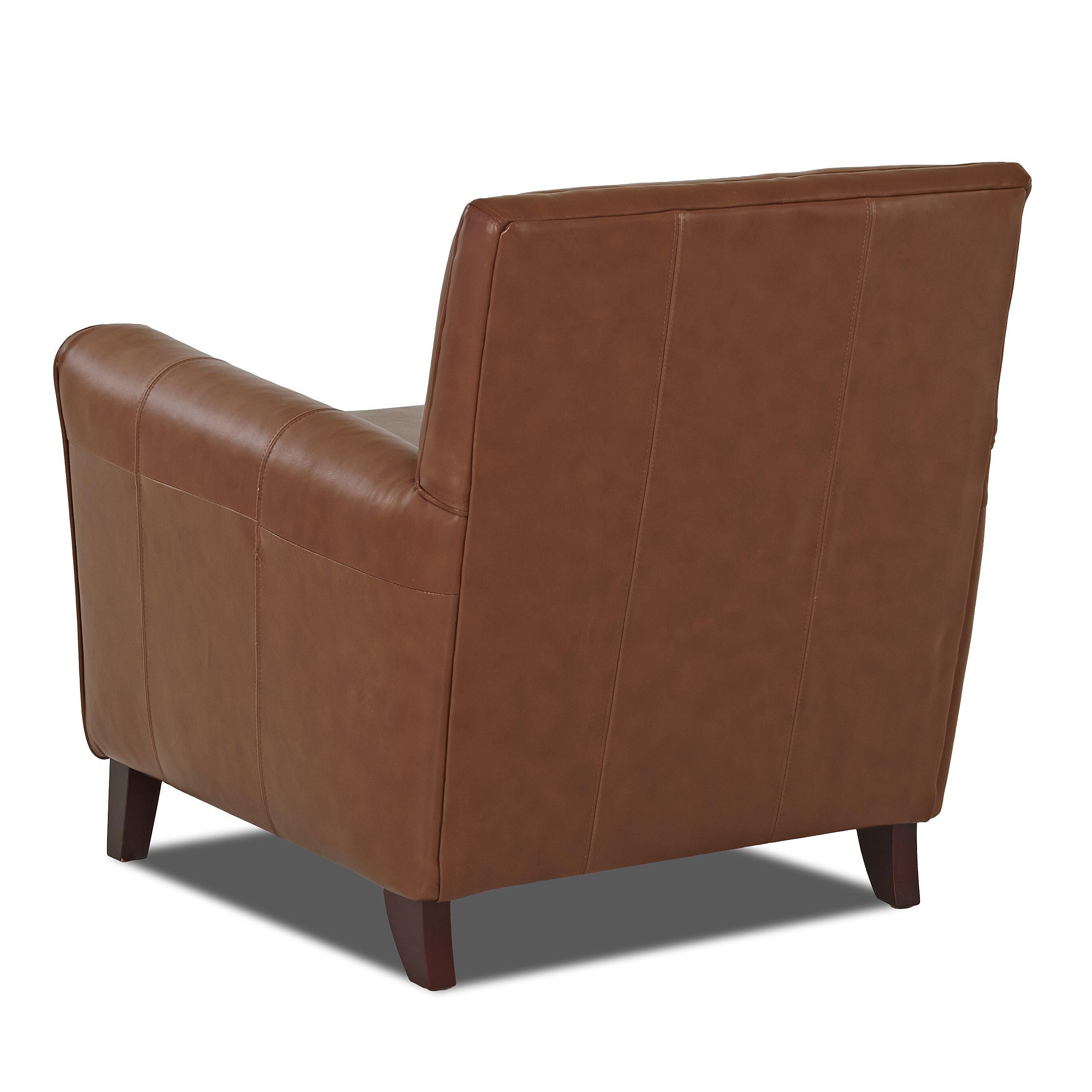 Warefair Com: Wayfair Custom Upholstery Grayson Leather Arm Chair