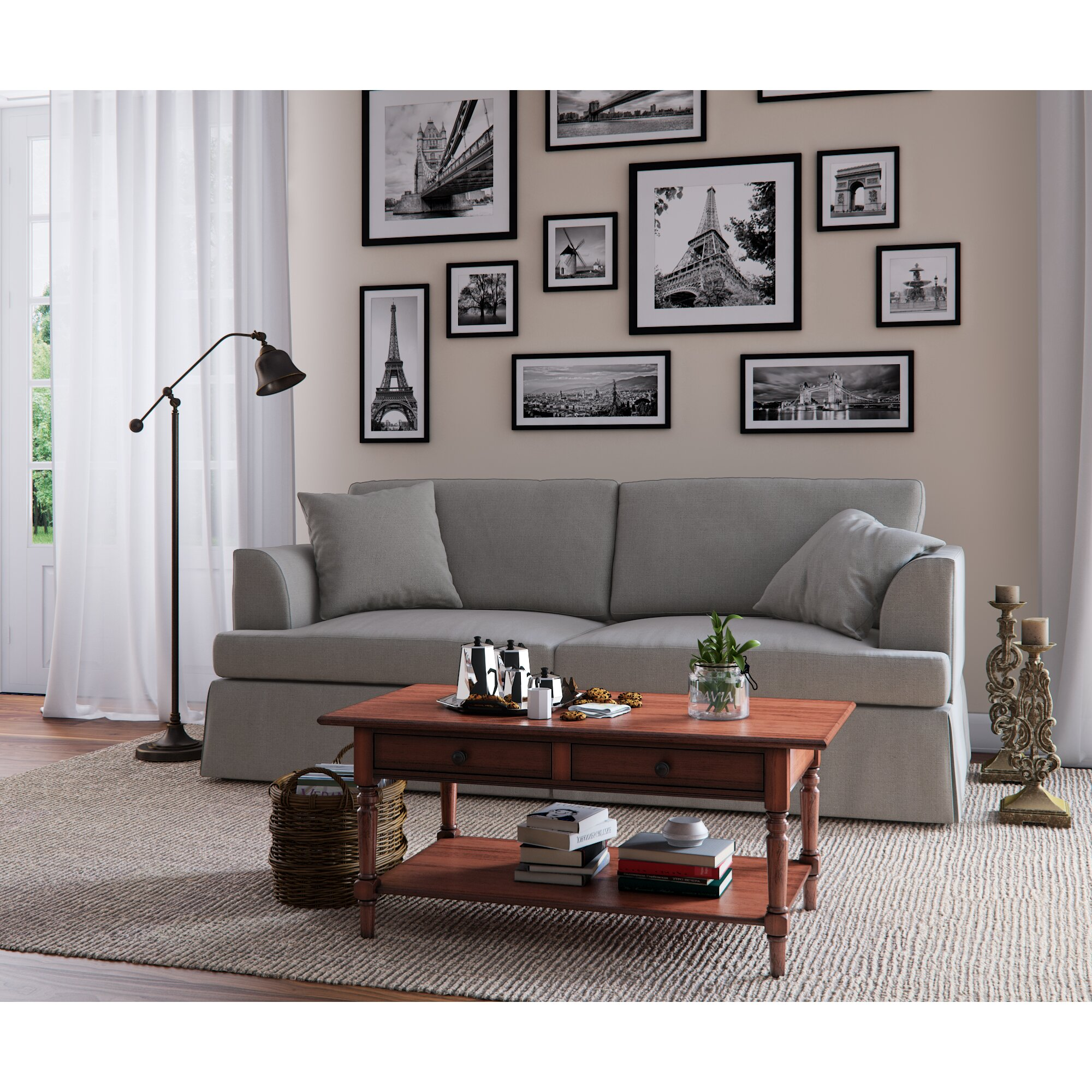 Wayfair Custom Upholstery Carly Sofa Reviews Wayfair