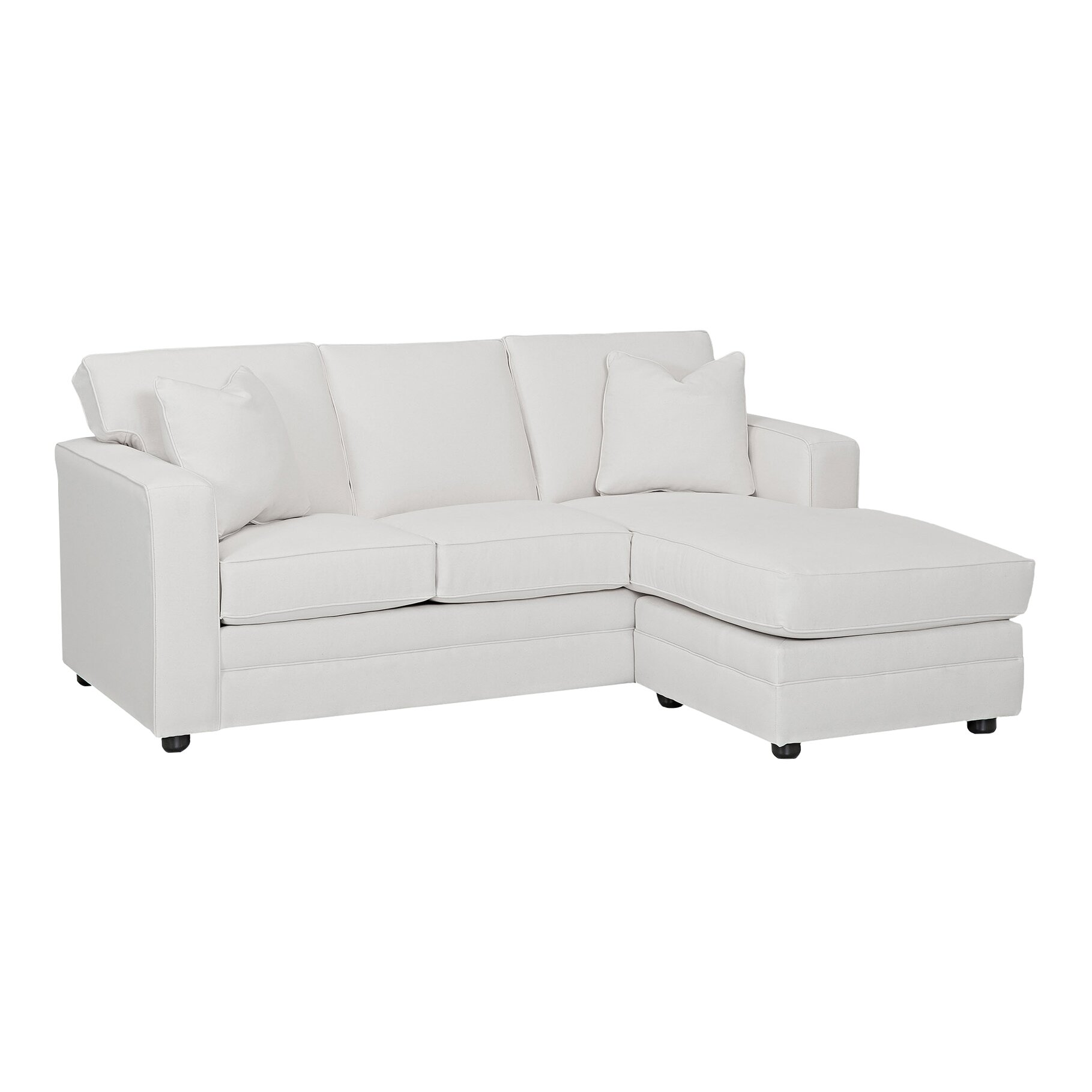 Wayfair Custom Upholstery Andrew Reversible Chaise