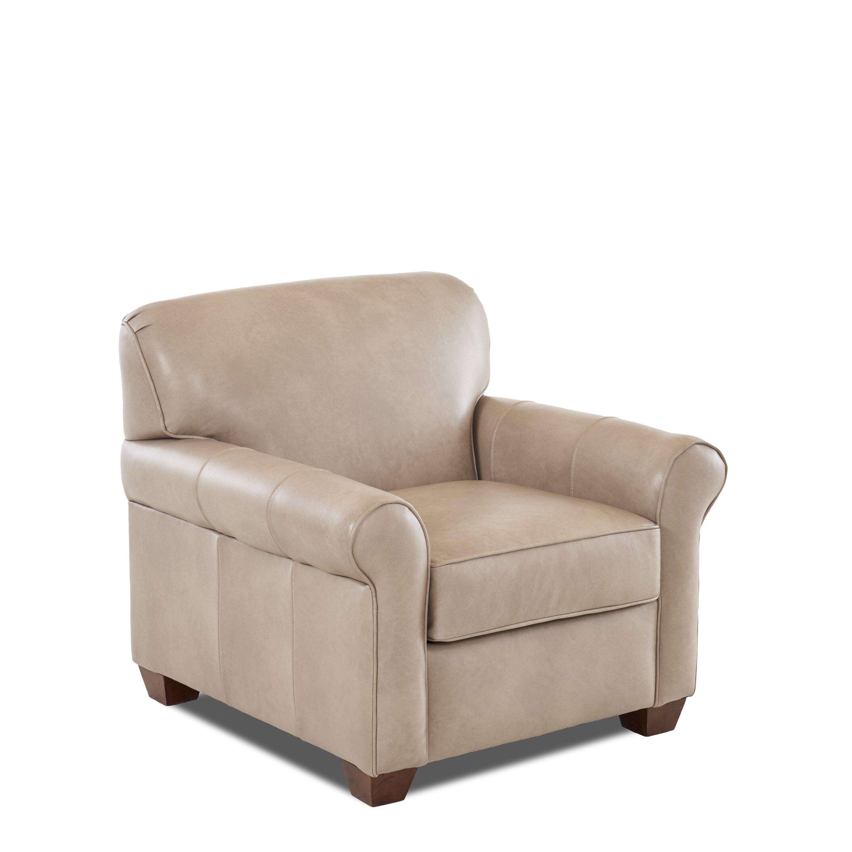 Wayfair Custom Upholstery Carleton Leather Chair Amp Reviews
