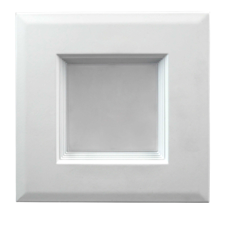 Led Recessed Lighting Square Trim : Nicor lighting quot square trim led retrofit recessed kit