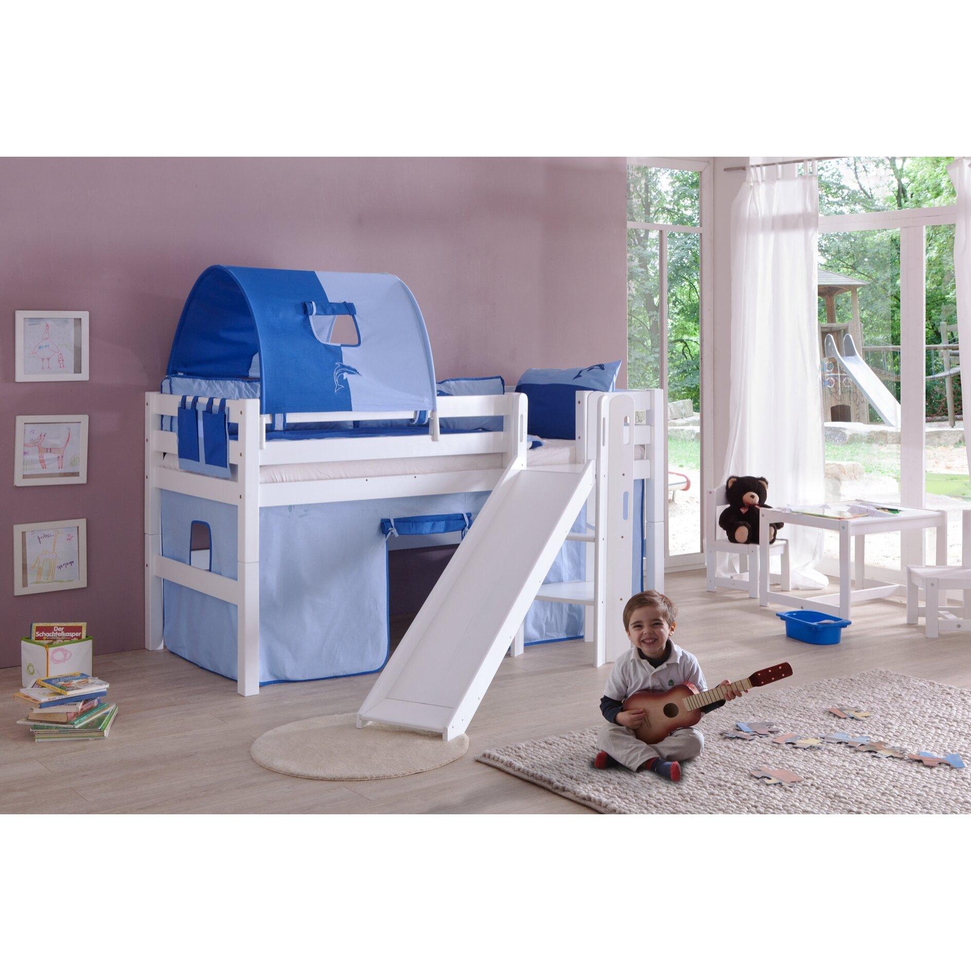 relita hochbett eliyas mit rutsche 90 x 200 cm bewertungen. Black Bedroom Furniture Sets. Home Design Ideas
