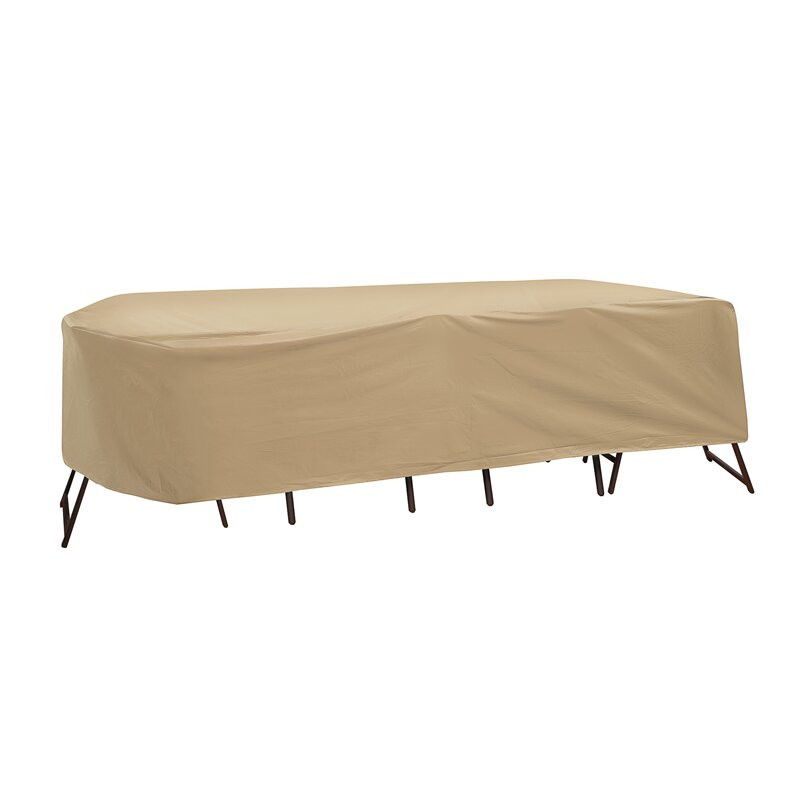 PCI Oval Or Rectangular Table And High Back Chair Cover Reviews Wayfair