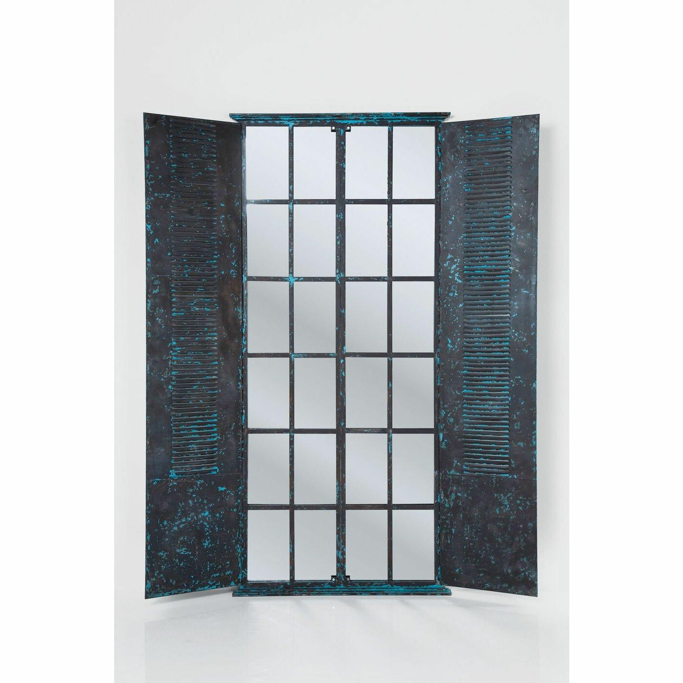 kare design wandspiegel window shutter. Black Bedroom Furniture Sets. Home Design Ideas
