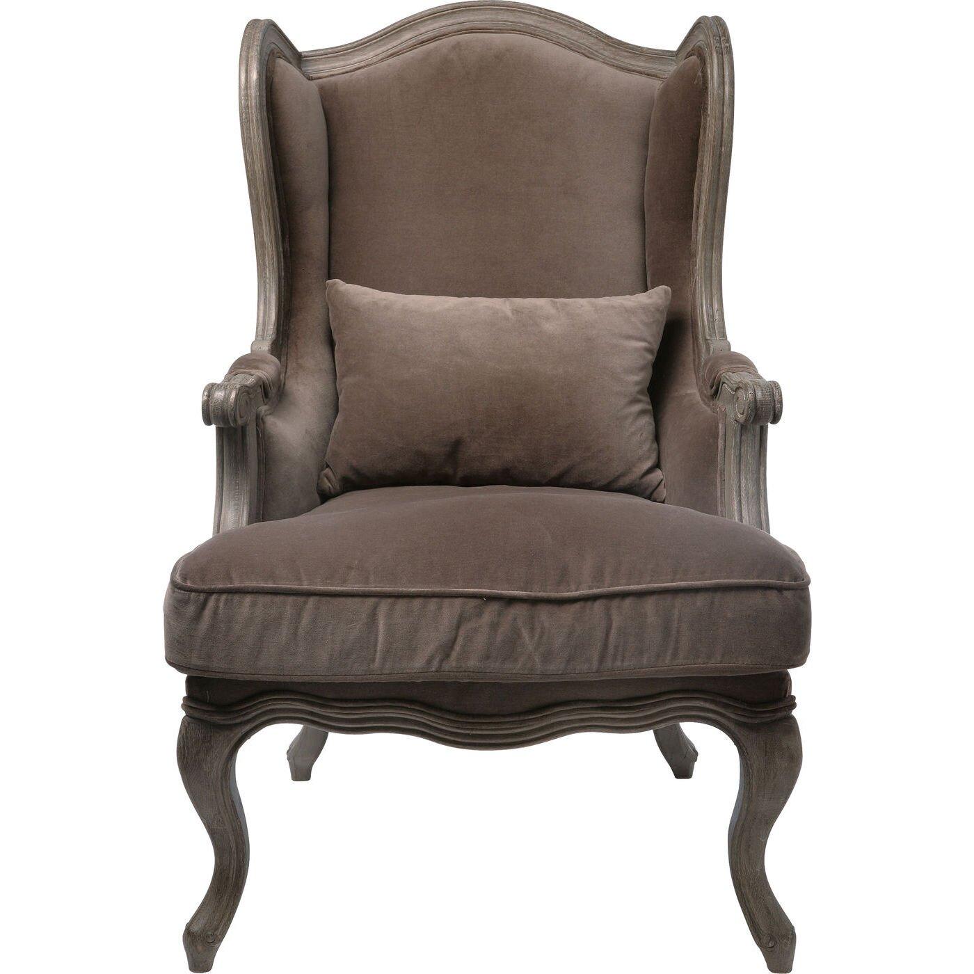 kare design villa sessel grandfather velvet. Black Bedroom Furniture Sets. Home Design Ideas