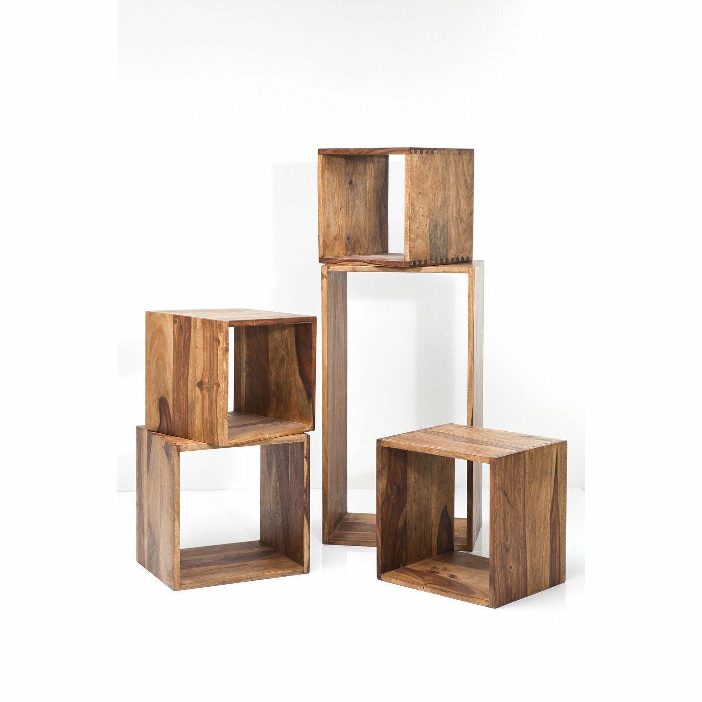 kare design authentico 5 piece cube set wayfair uk