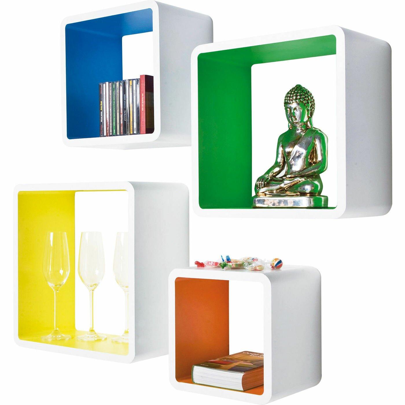 kare design colore 4 piece cube set reviews wayfair uk. Black Bedroom Furniture Sets. Home Design Ideas