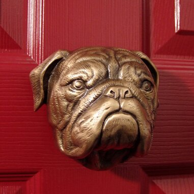 Michael Healy Designs Bulldog Door Knocker Reviews Wayfair