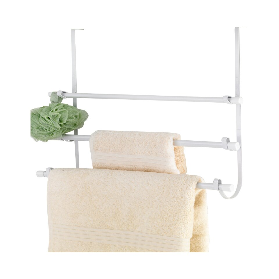 Popular bath products over the door towel rack reviews for Bathroom towel racks