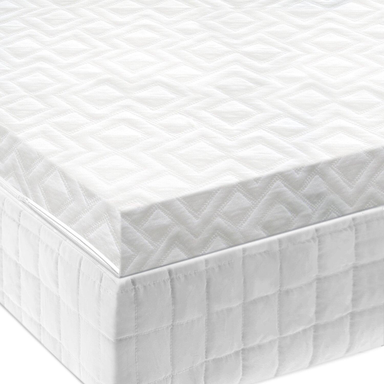 Malouf Ventilated Gel Memory Foam Mattress Topper