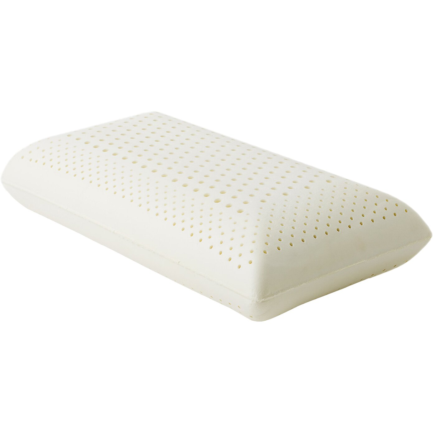 Malouf Zoned Dough Memory Low Loft Firm Foam Pillow By Z
