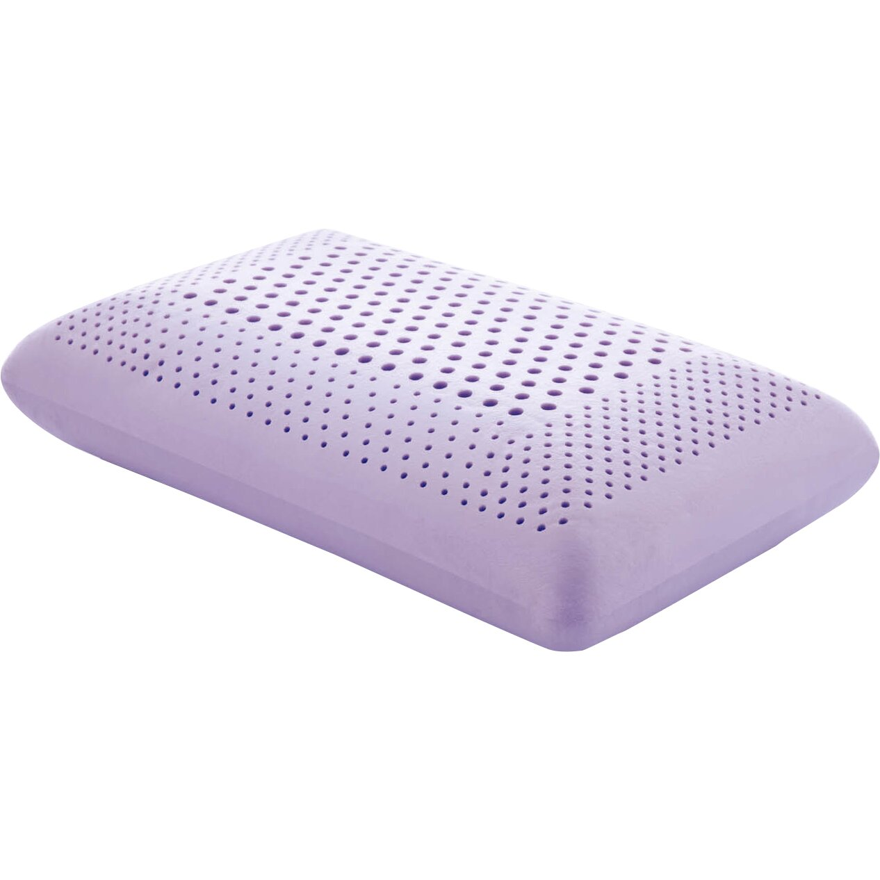 Malouf Zoned Dough Lavender Oil Infused Memory Foam Pillow