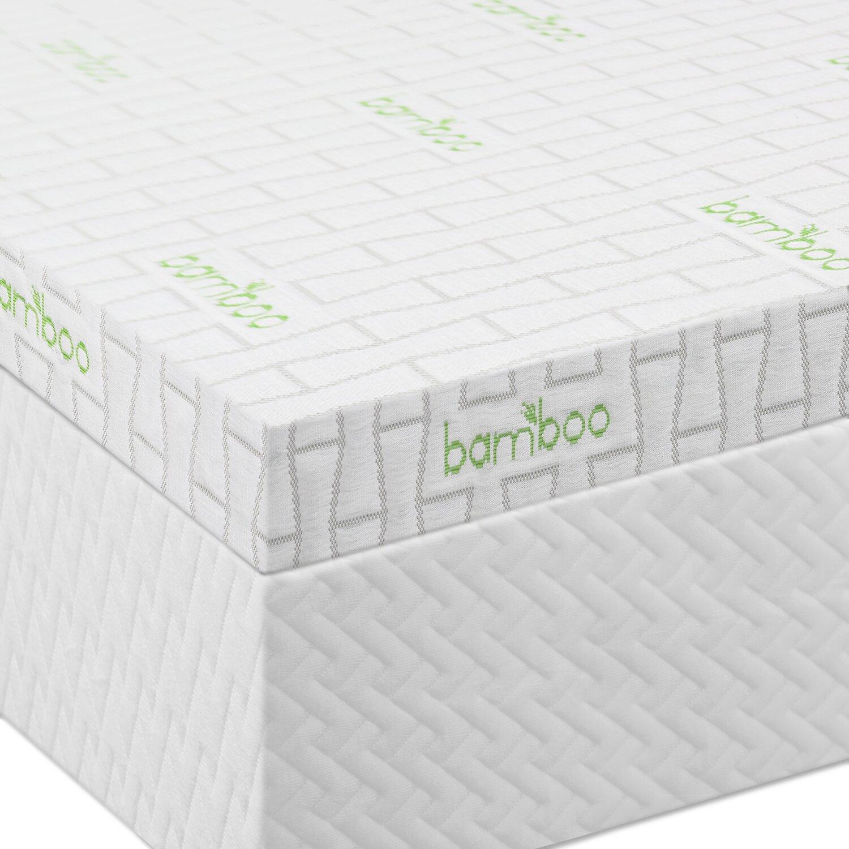Lucid 2 5 Ventilated Memory Foam Mattress Topper Reviews Wayfair