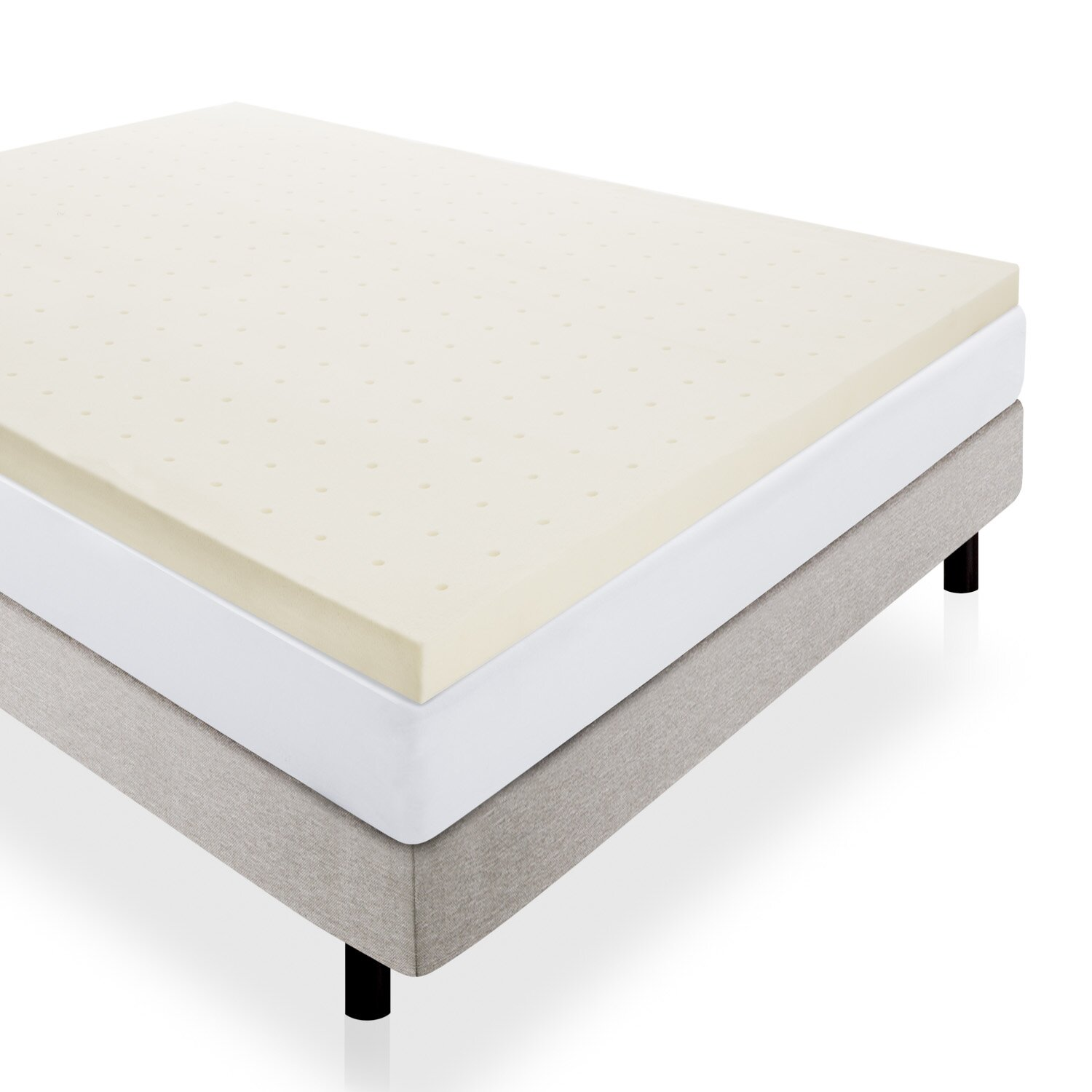 Lucid Memory Foam Mattress Topper