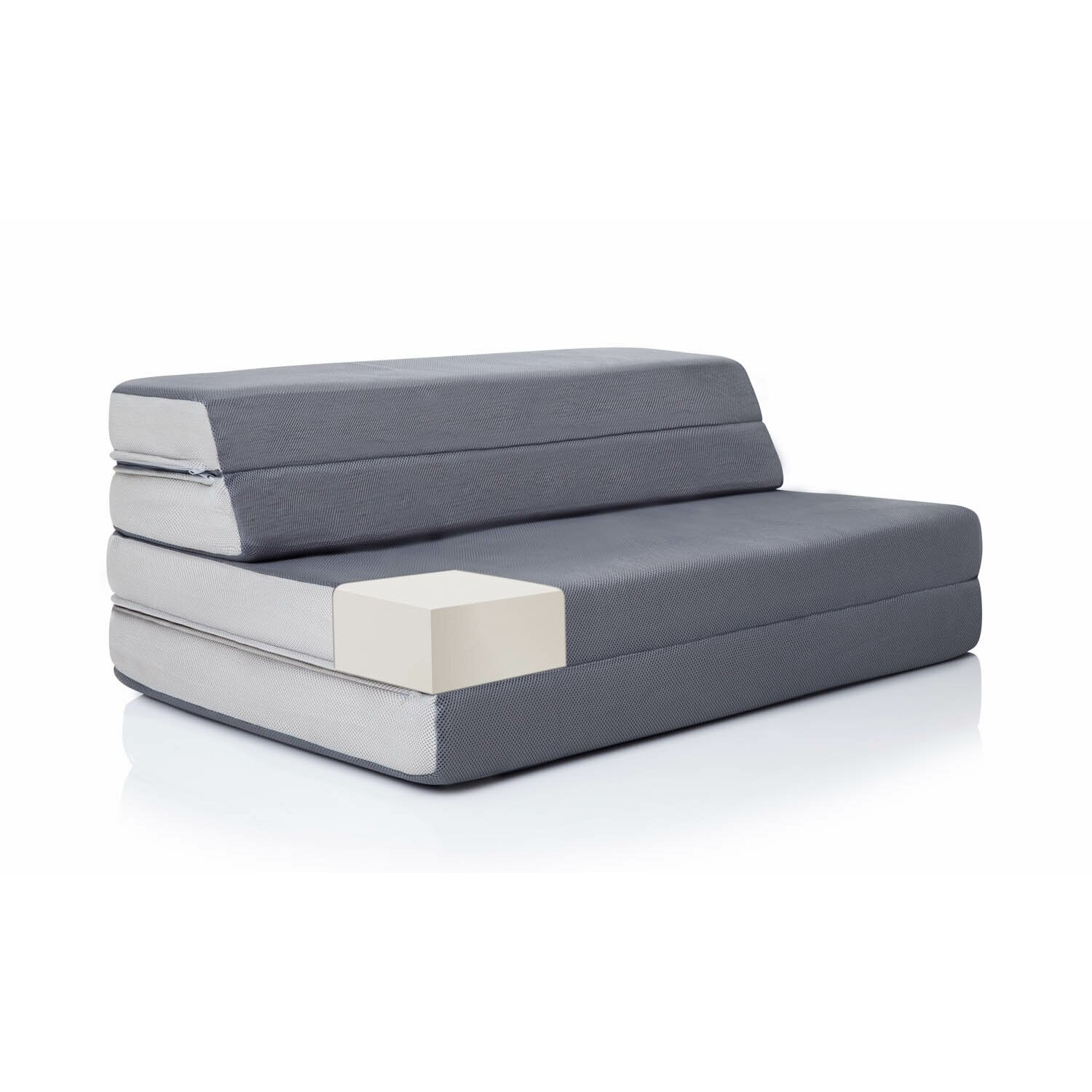 "Lucid Folding 4"" Foam Mattress & Reviews"