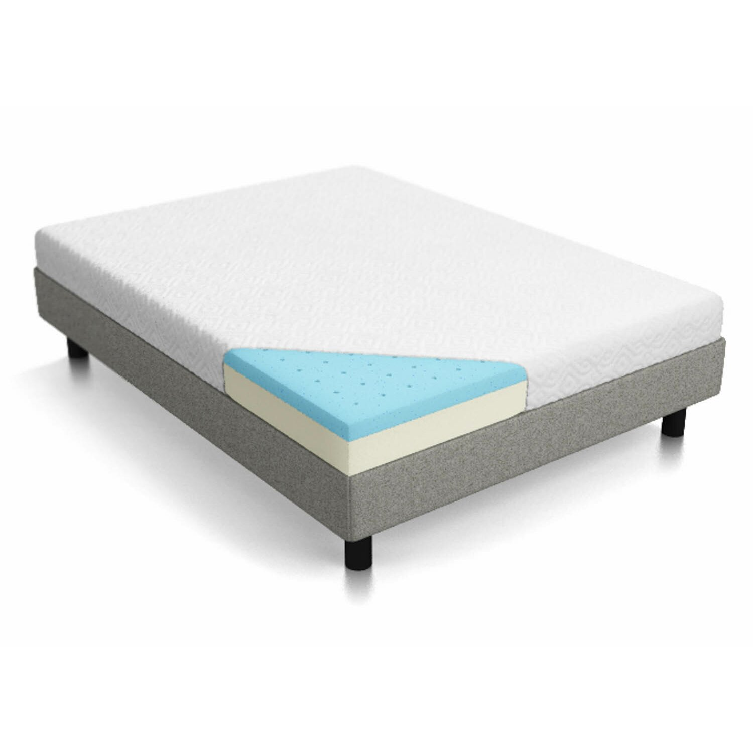 Mine Latex foam mattress california