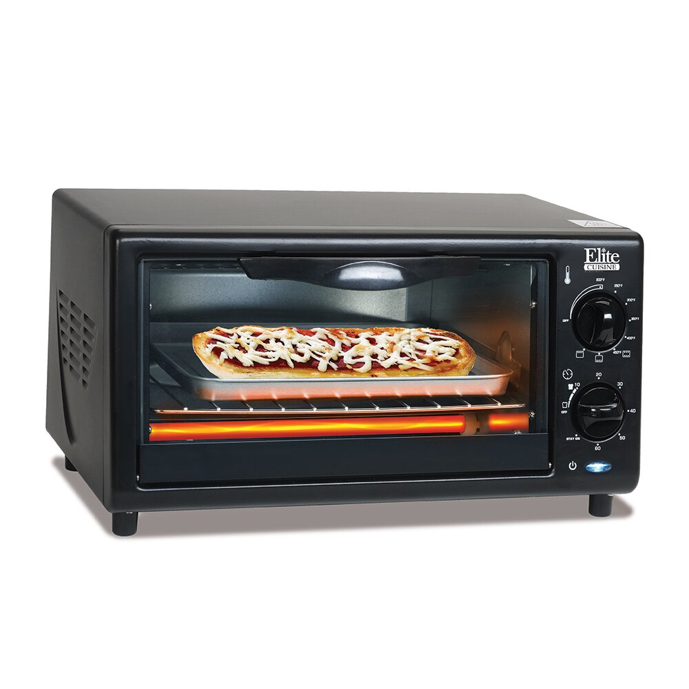 Elite By Maxi Matic Cuisine 4 Slice Oven Broiler Toaster