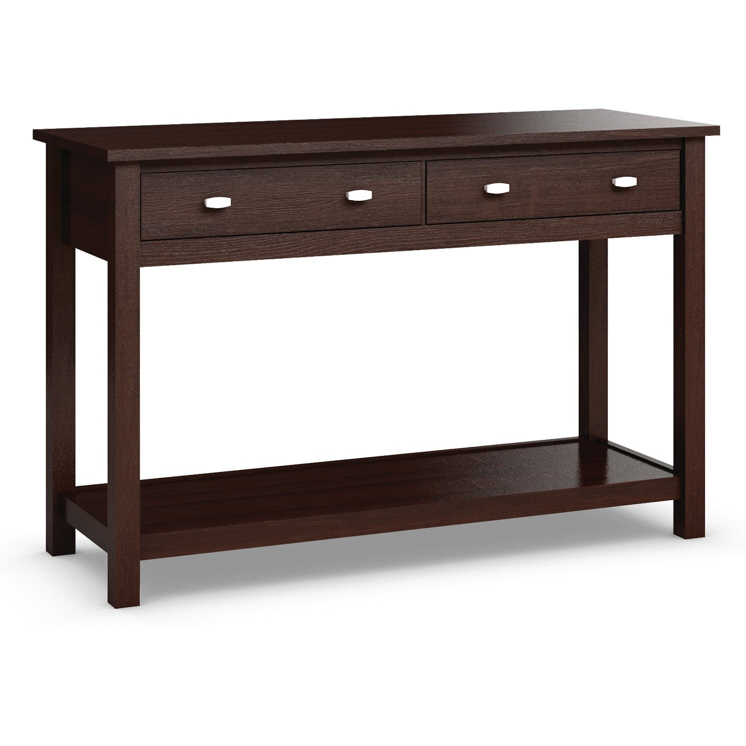 caravel carabus console table reviews wayfair. Black Bedroom Furniture Sets. Home Design Ideas