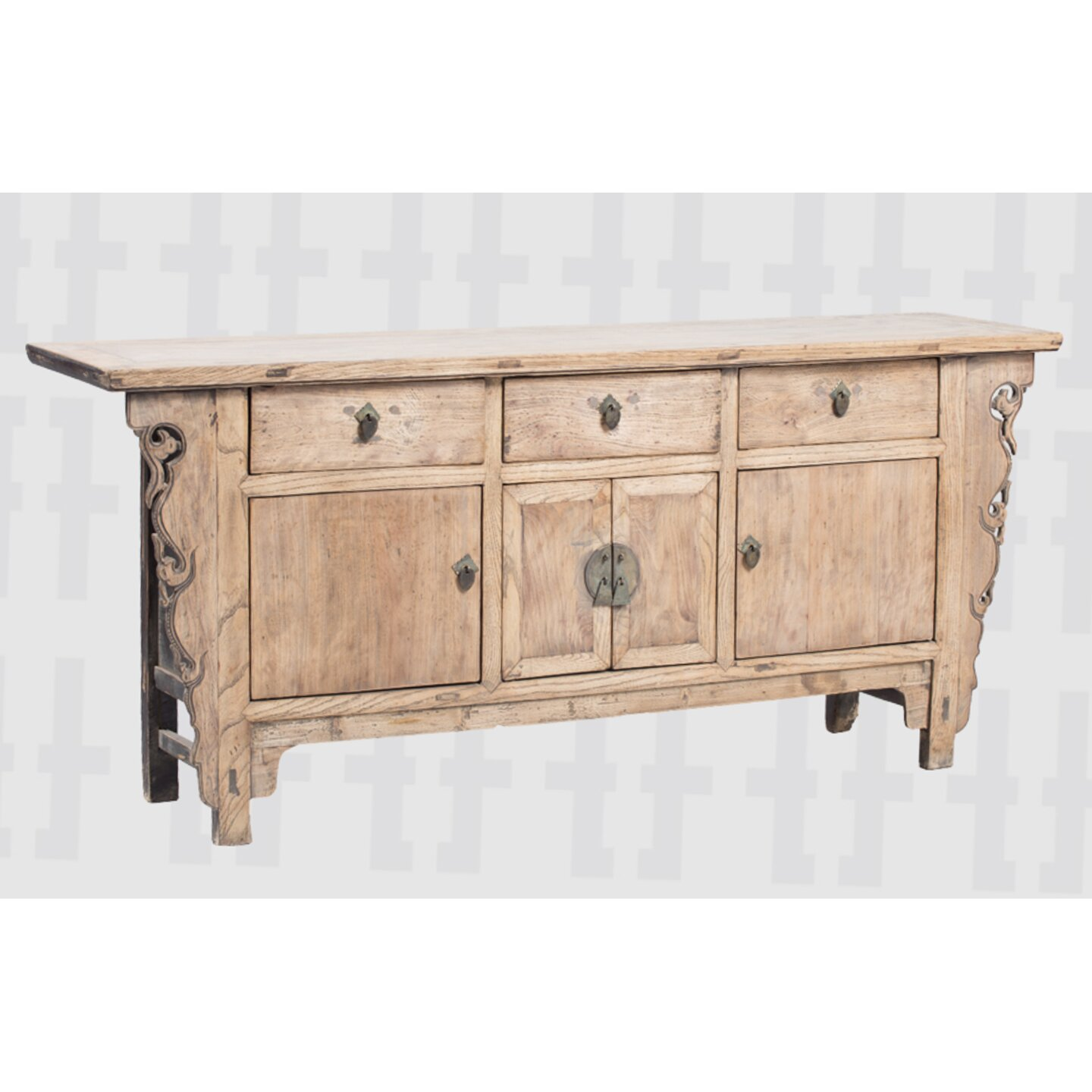 vical home 4 door 3 drawer sideboard wayfair uk