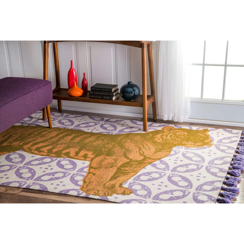 fresh purple rugs for bedroom