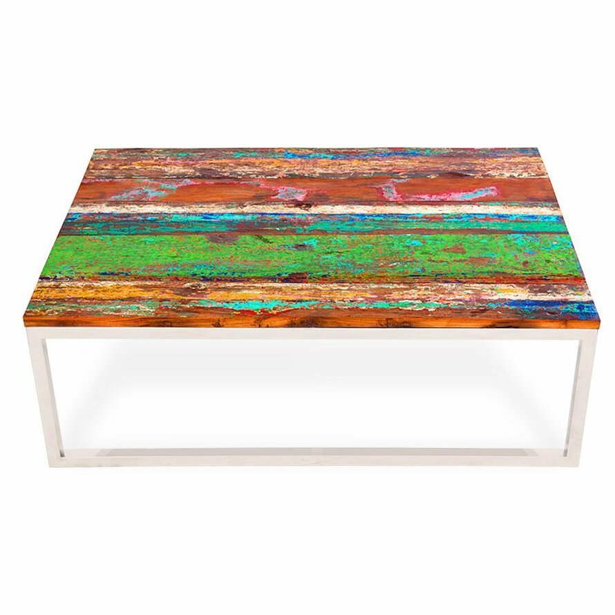 ecochic lifestyles rising tide wood coffee table wayfair